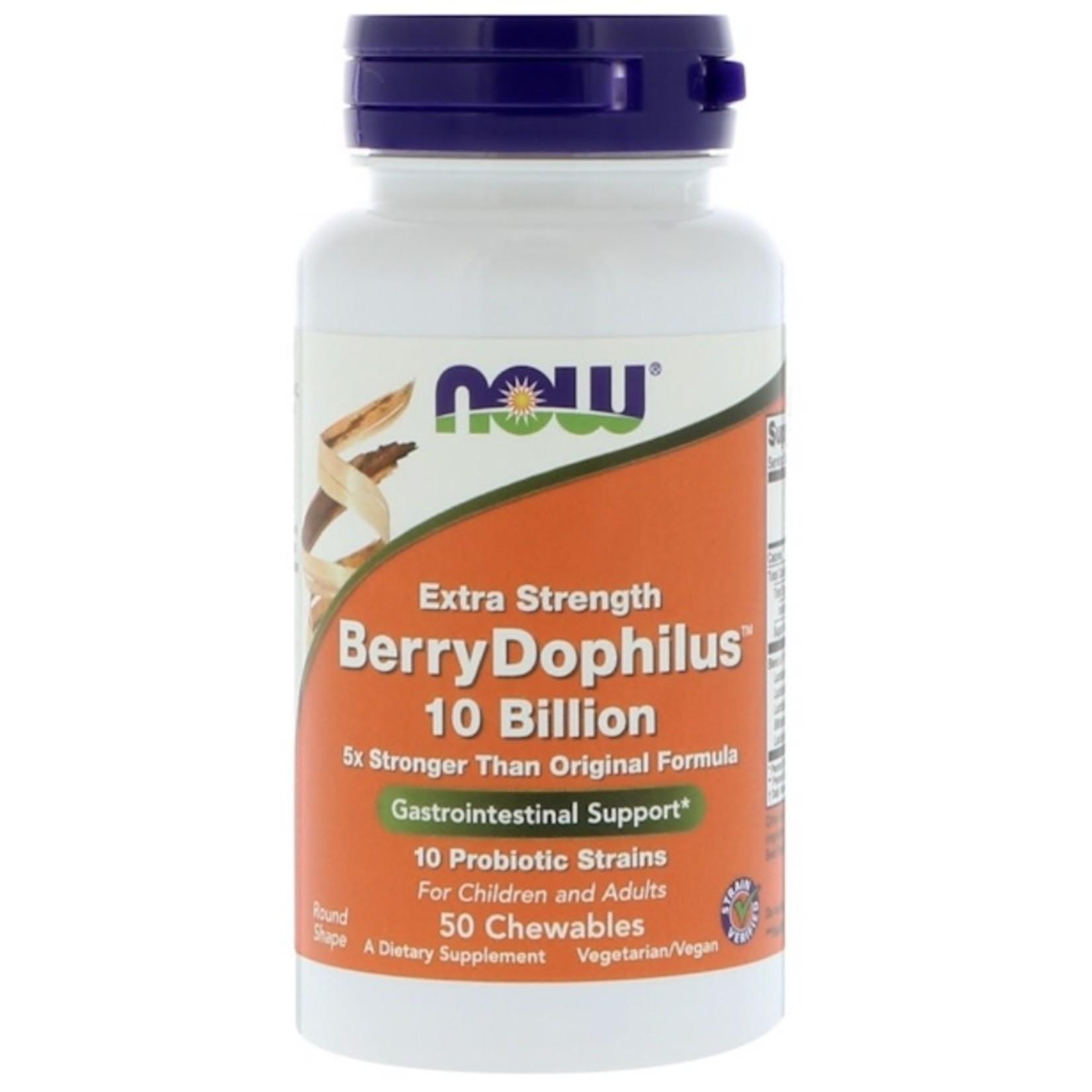 Now Now Extra Strength BerryDophilus
