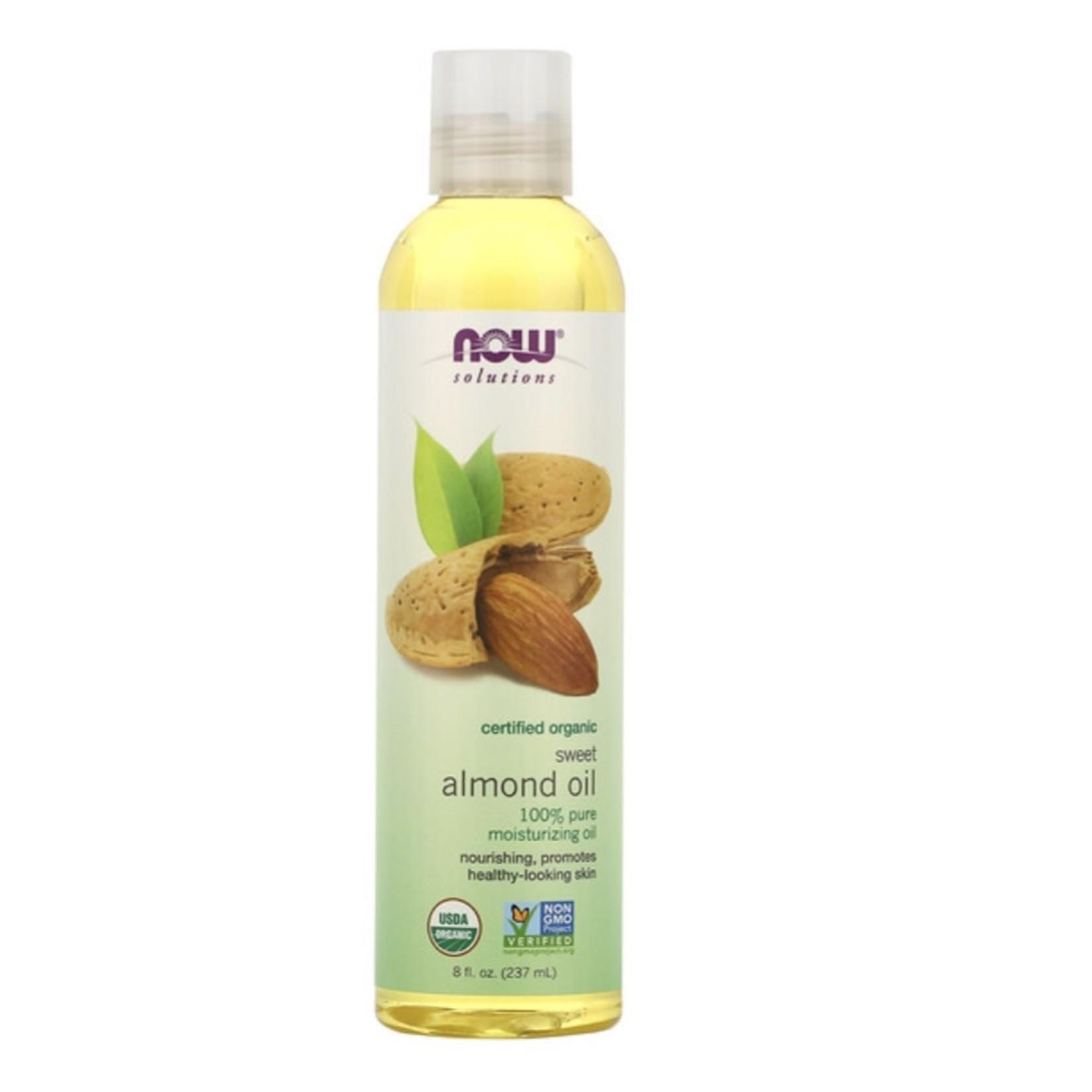 Now Now Organic Almond Oil 237ml