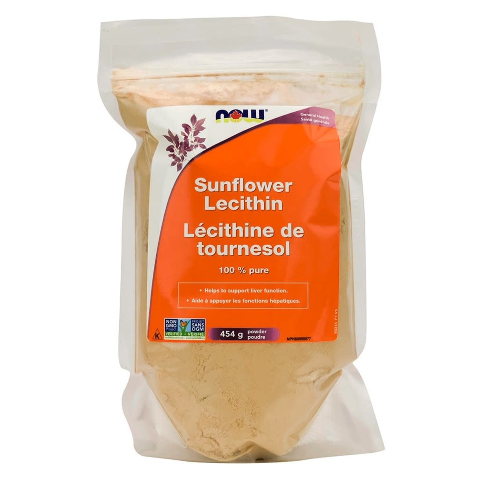 Now Now Sunflower Lecithin 454g