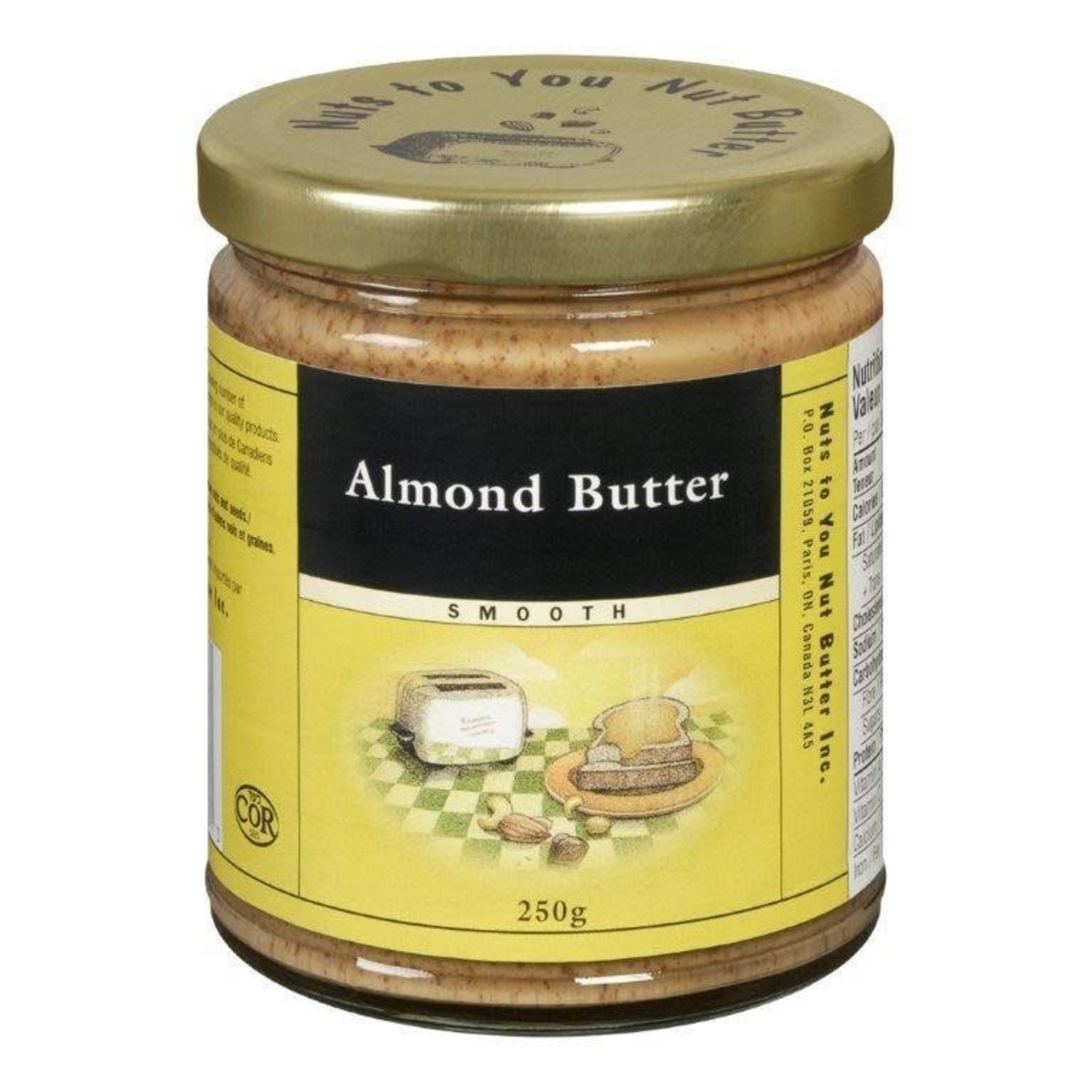 Nuts to You Nuts to You Almond Butter