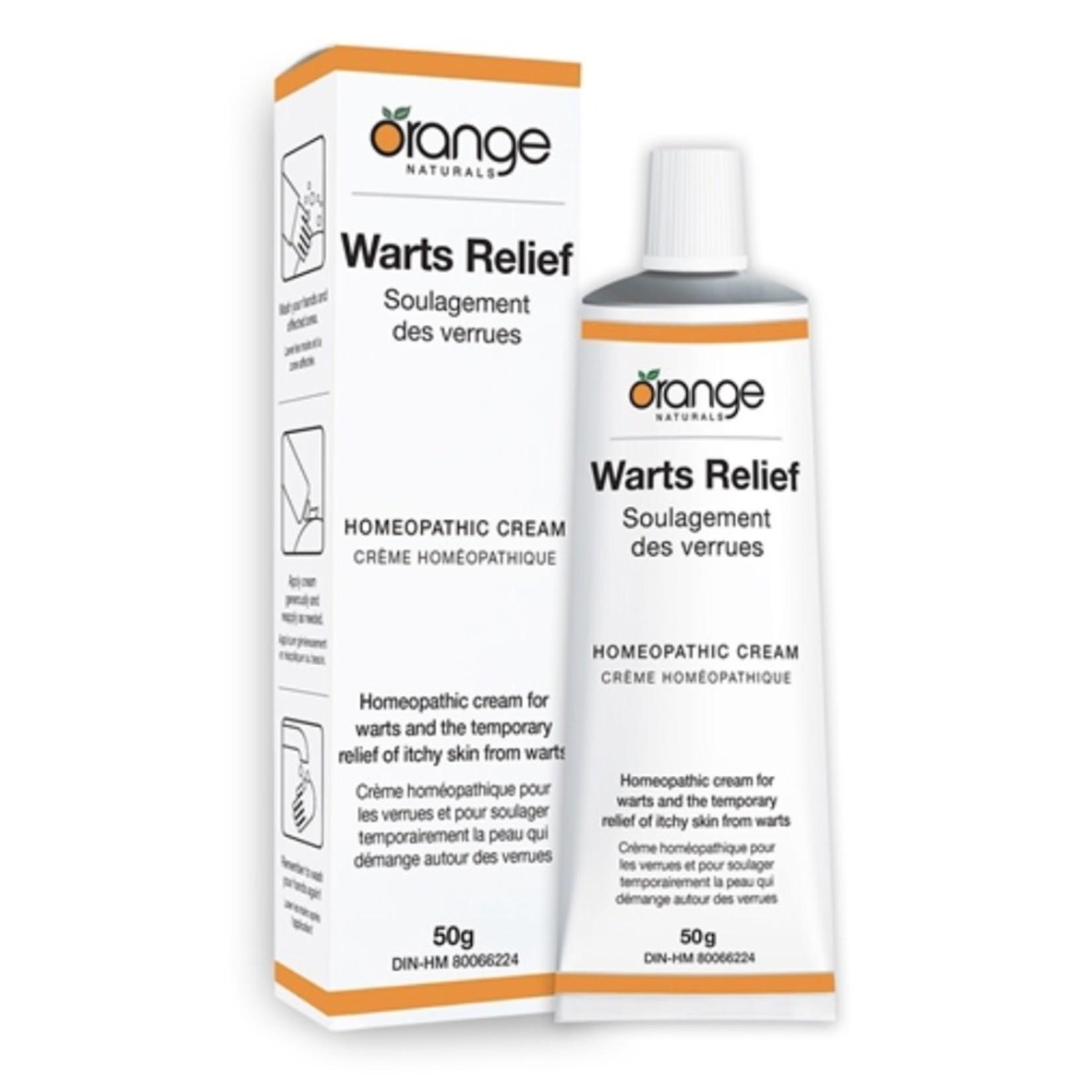 Orange Naturals Orange Natural Warts Relief 50g