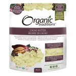 Organic Traditions Organic Traditions Cacao Butter 454g