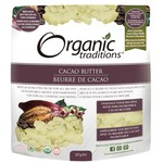 Organic Traditions Organic Traditions Cacao Butter 227g