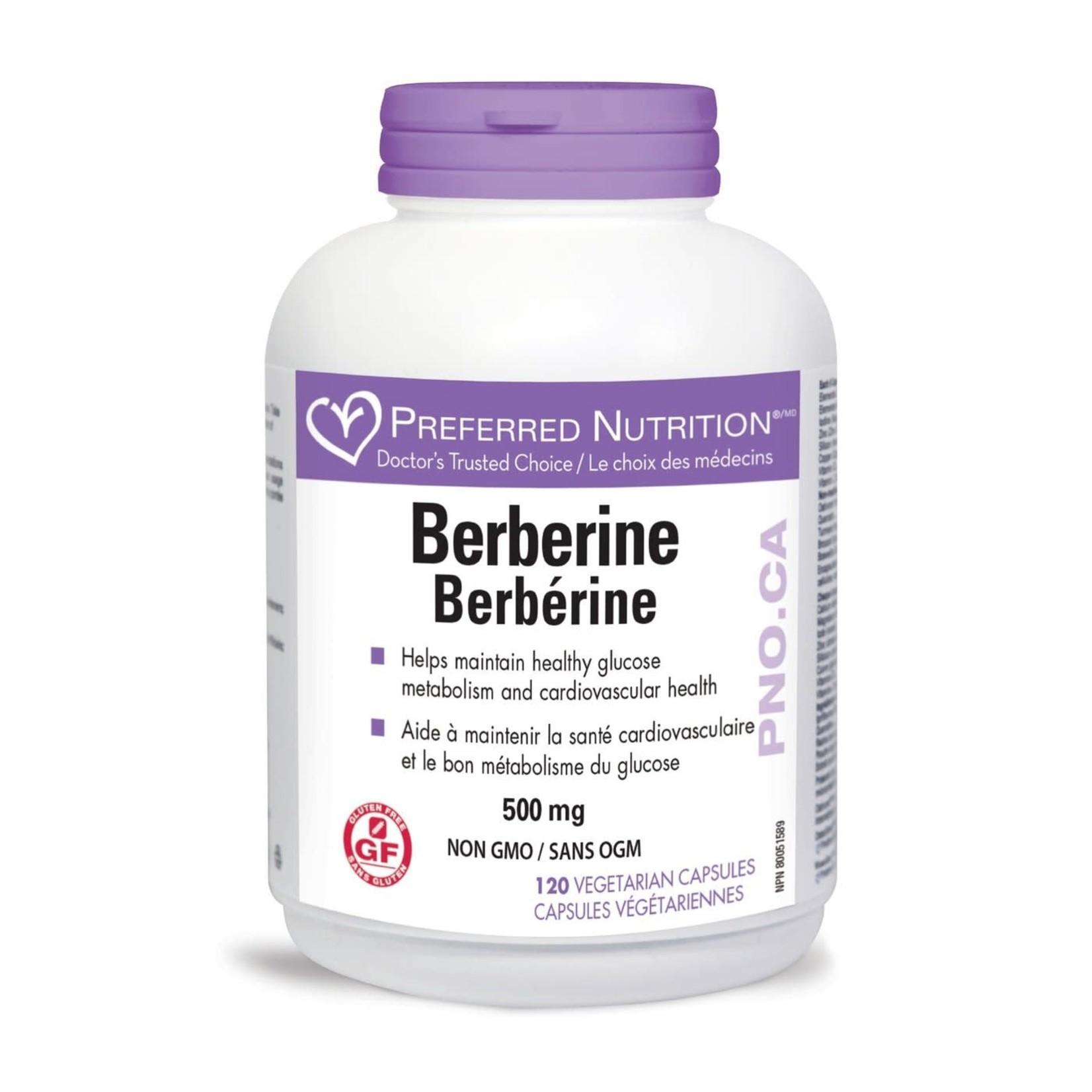 Preferred Nutrition Preferred Nutrition Berberine 120 caps