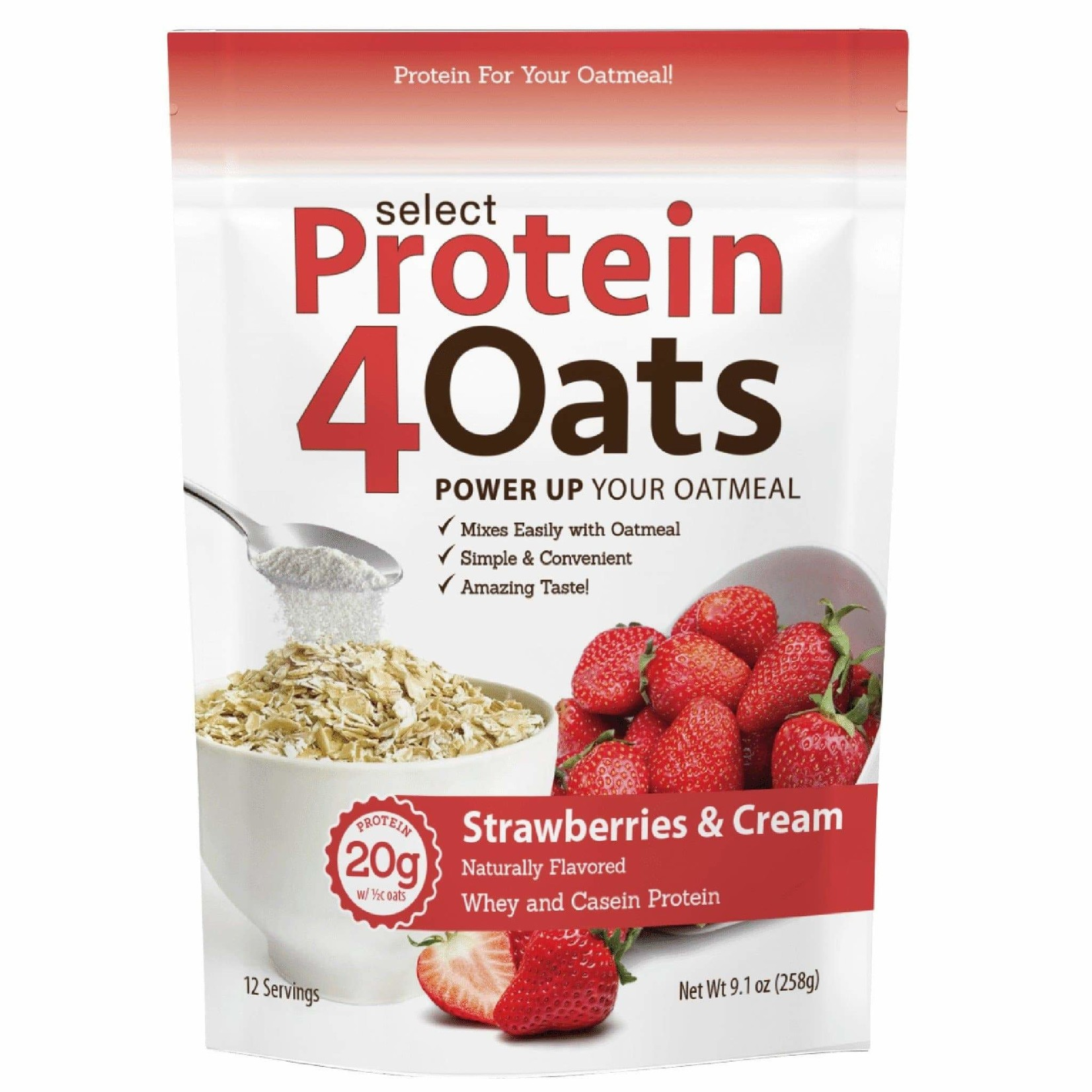 PEScience Protein 4 Oats Strawberries & Cream