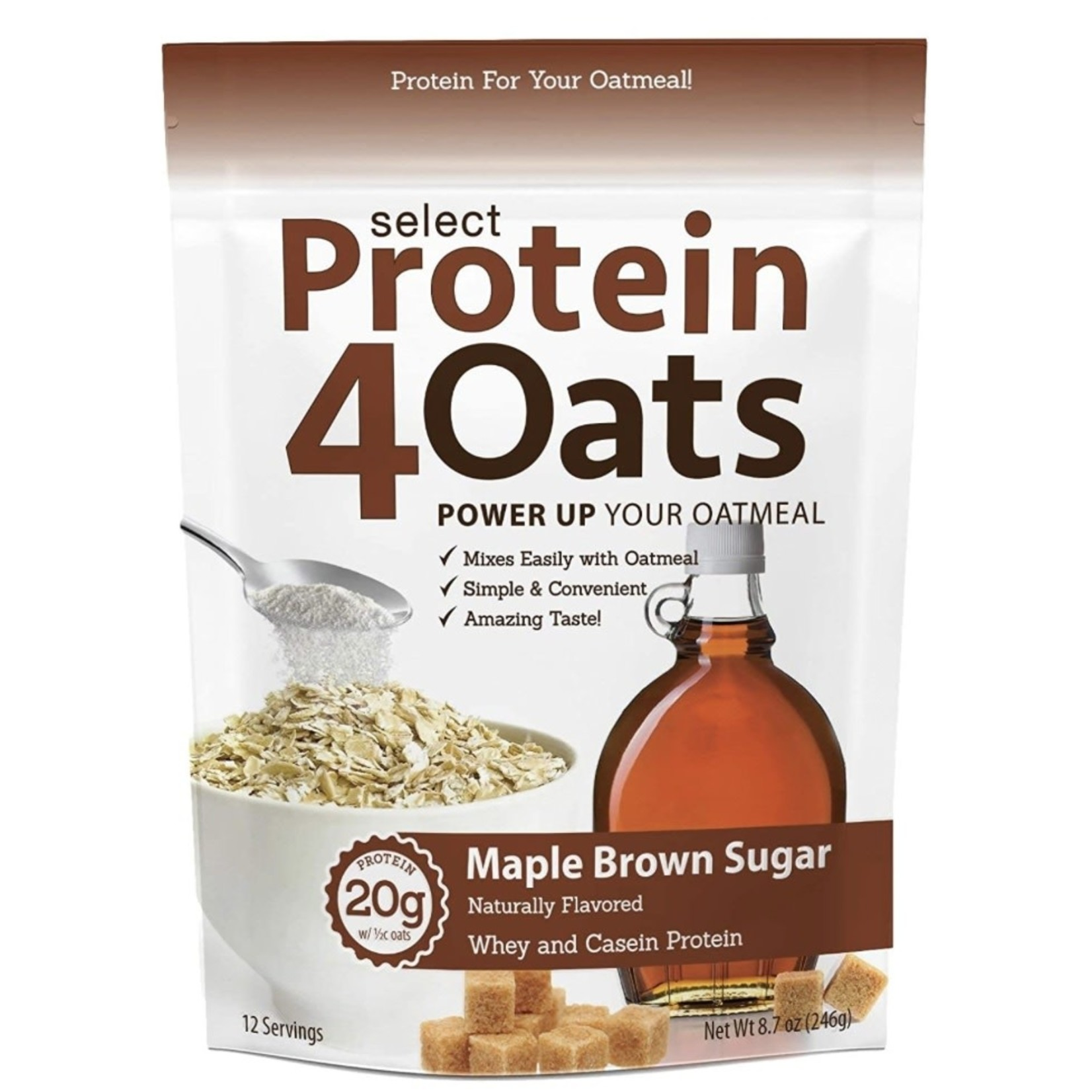 PEScience Protein 4 Oats Maple Brown Sugar