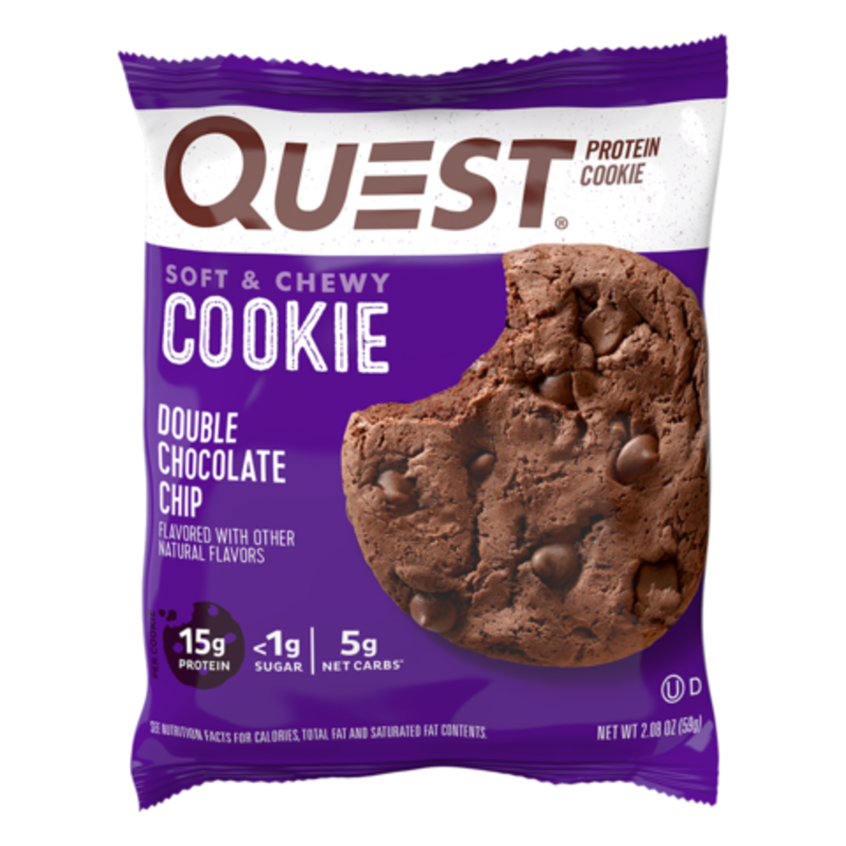 Quest Quest Double Chocolate Chip Cookie