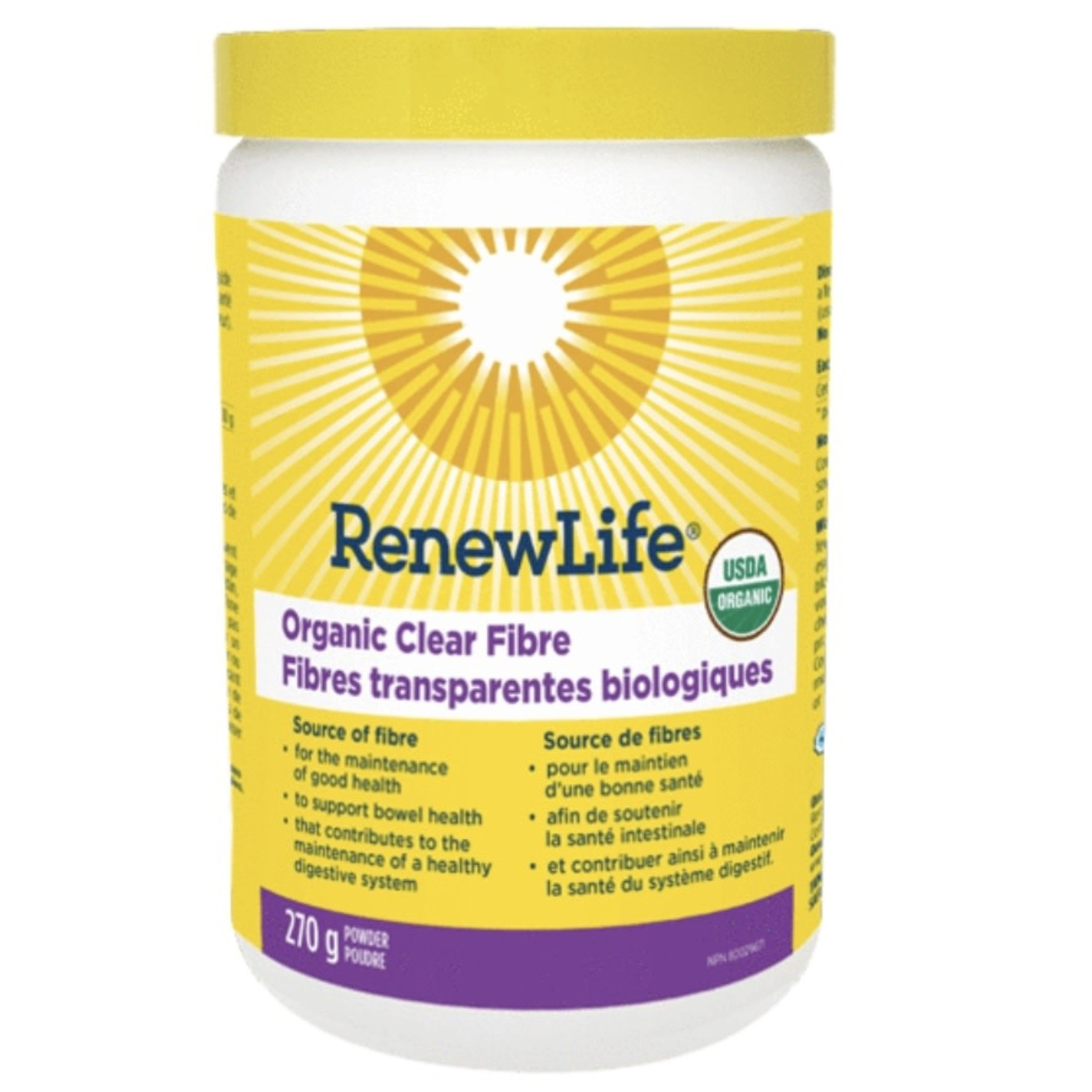 Renew Life Renew Life Organic Clear Fibre 270g