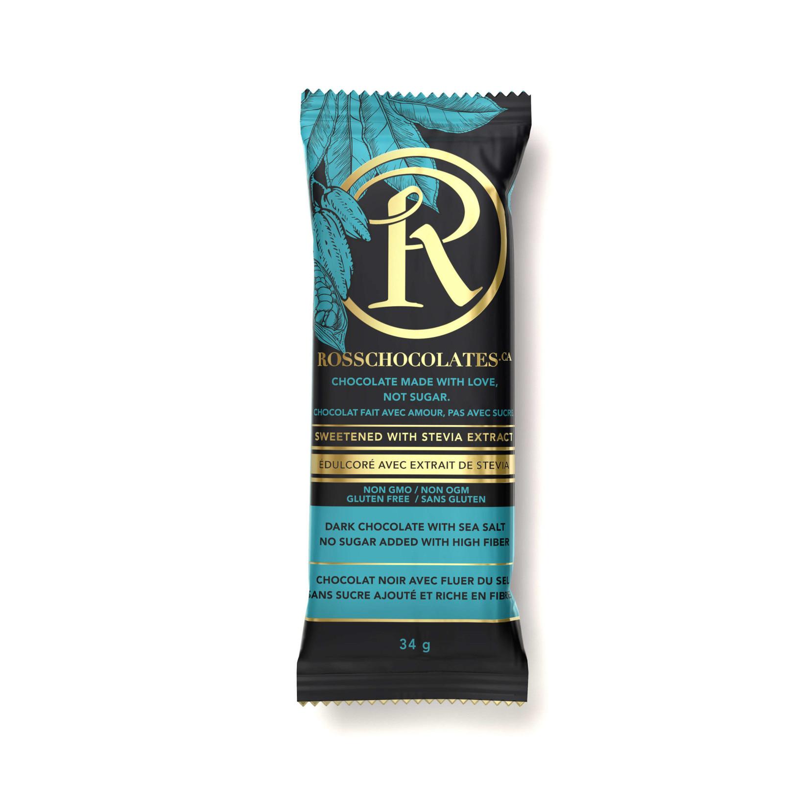 Ross Ross Dark Chocolate Sea Salt Bar