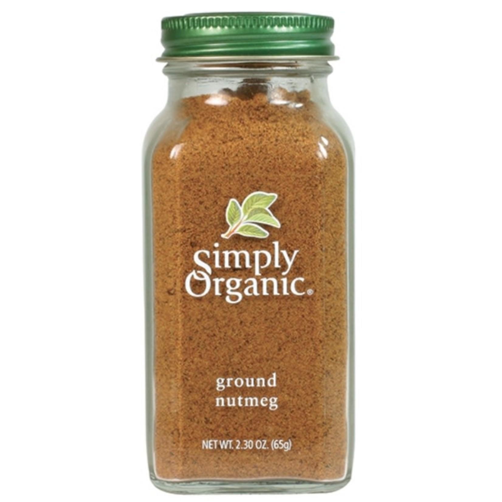 Simply Organic Simply Organic Ground Nutmeg 65g