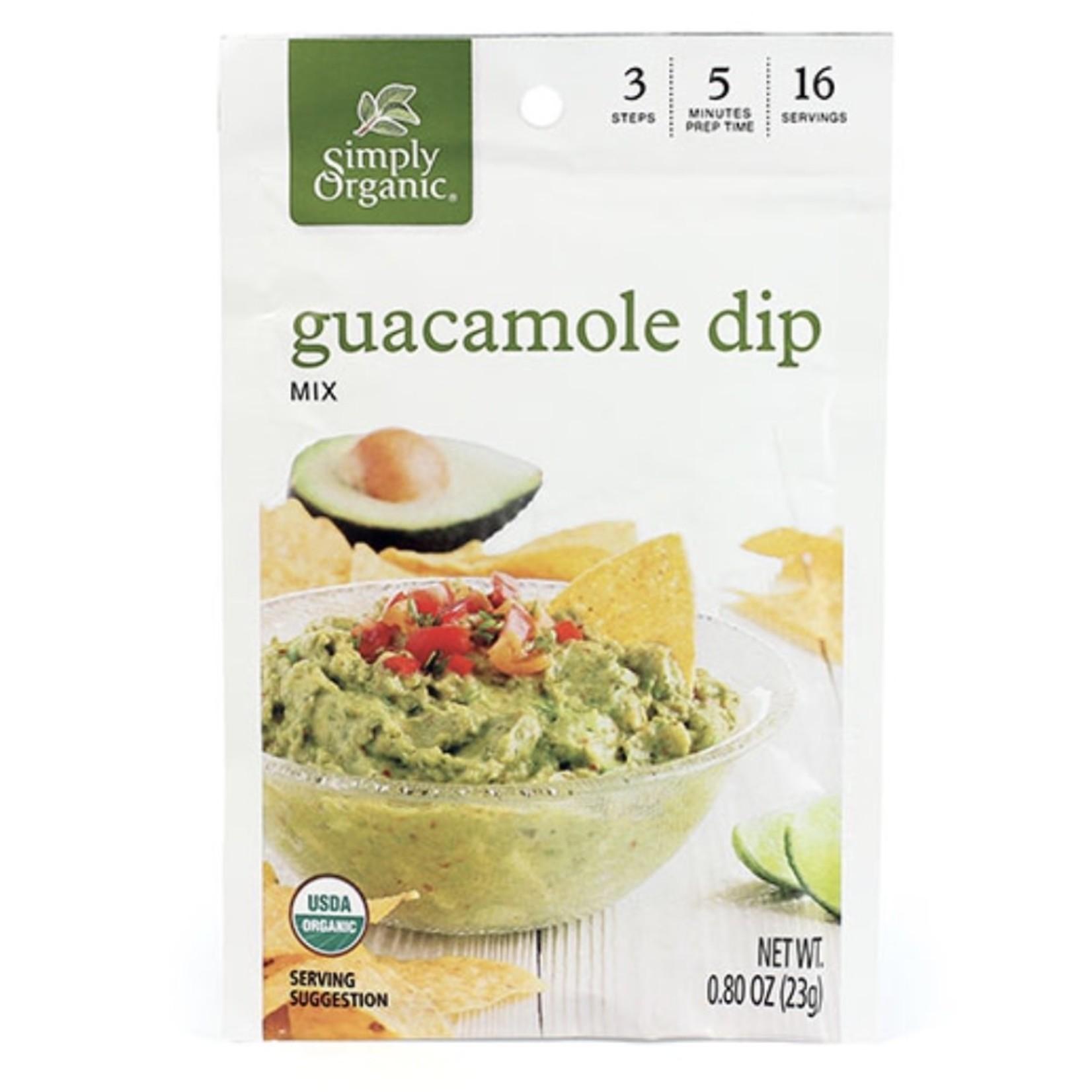 Simply Organic Simply Organic Guacamole Dip