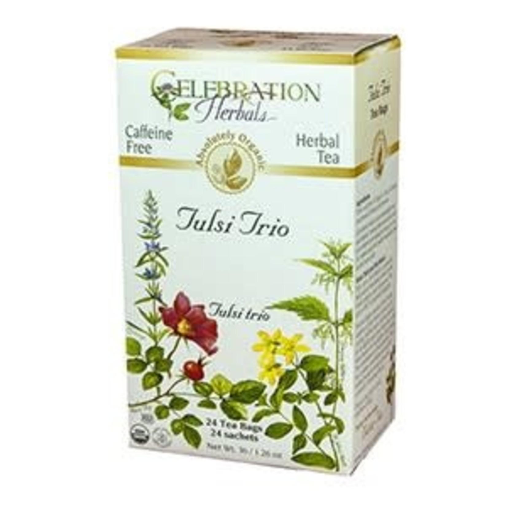 Celebration Herbals Celebration Herbals Tulsi Trio Tea 24 Tea Bags