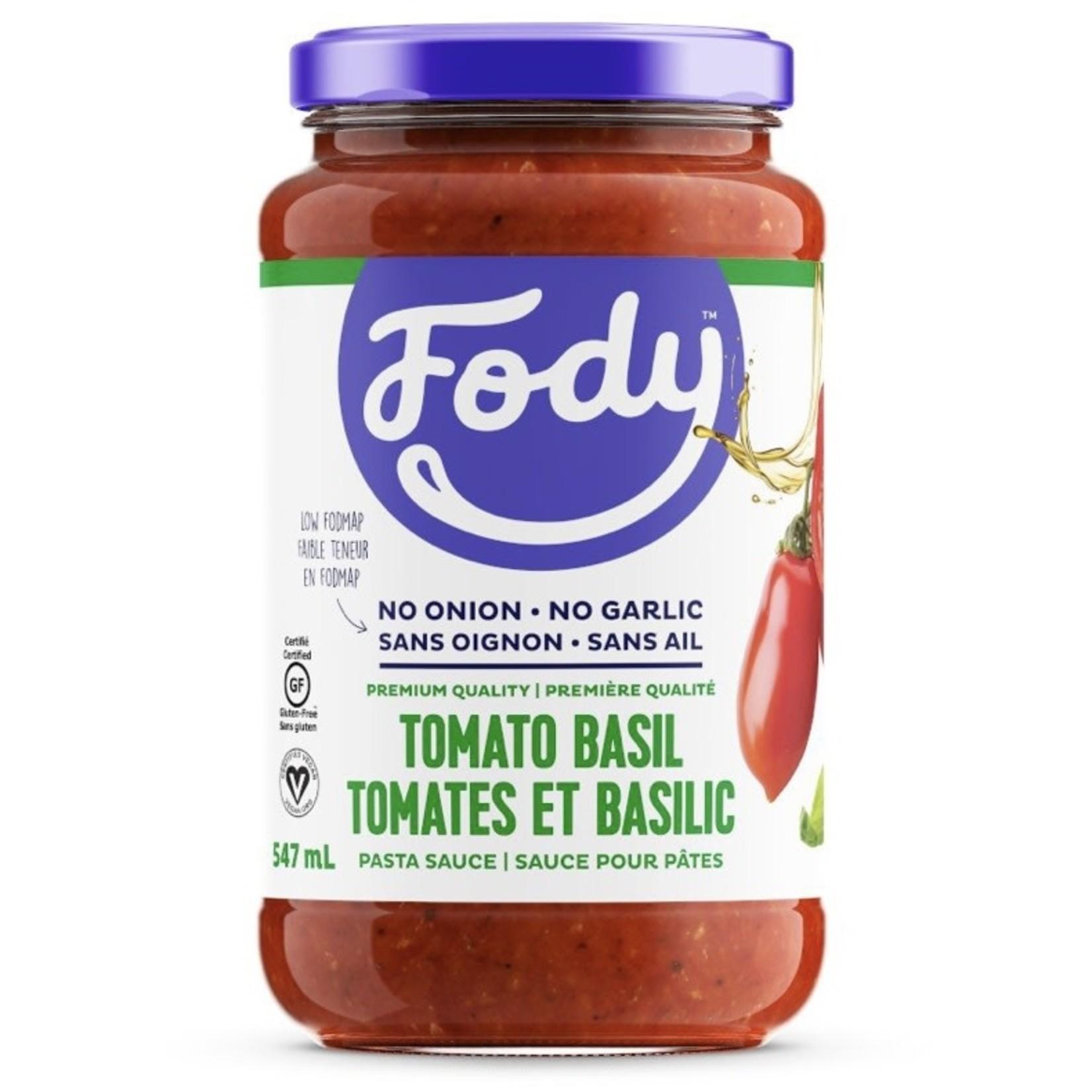 Fody Food Co. Fody Tomato Basil Pasta Sauce