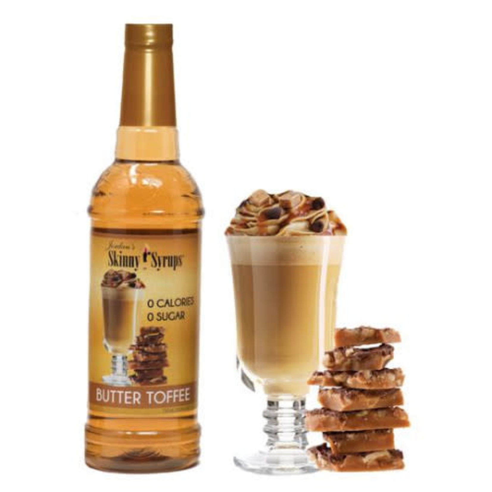 Skinny Syrups Skinny Syrups - Butter Toffee 750ml