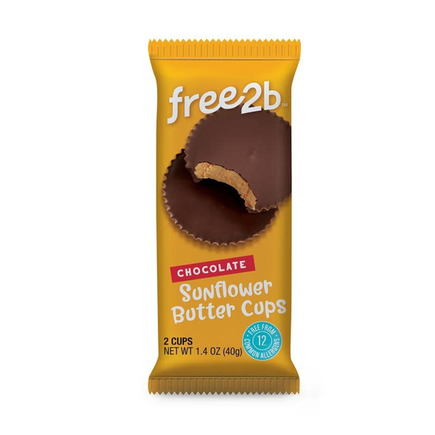 Free2B Free2B Chocolate Sunflower Butter Cups
