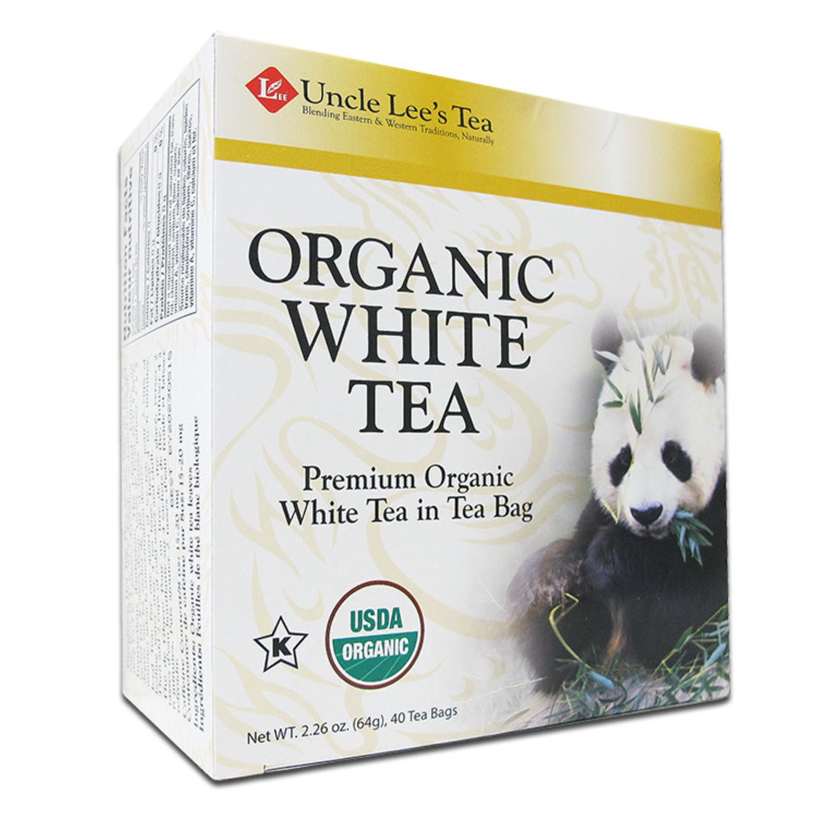 Uncle Lee's Uncle Lee's Organic White Tea 40 tea bags