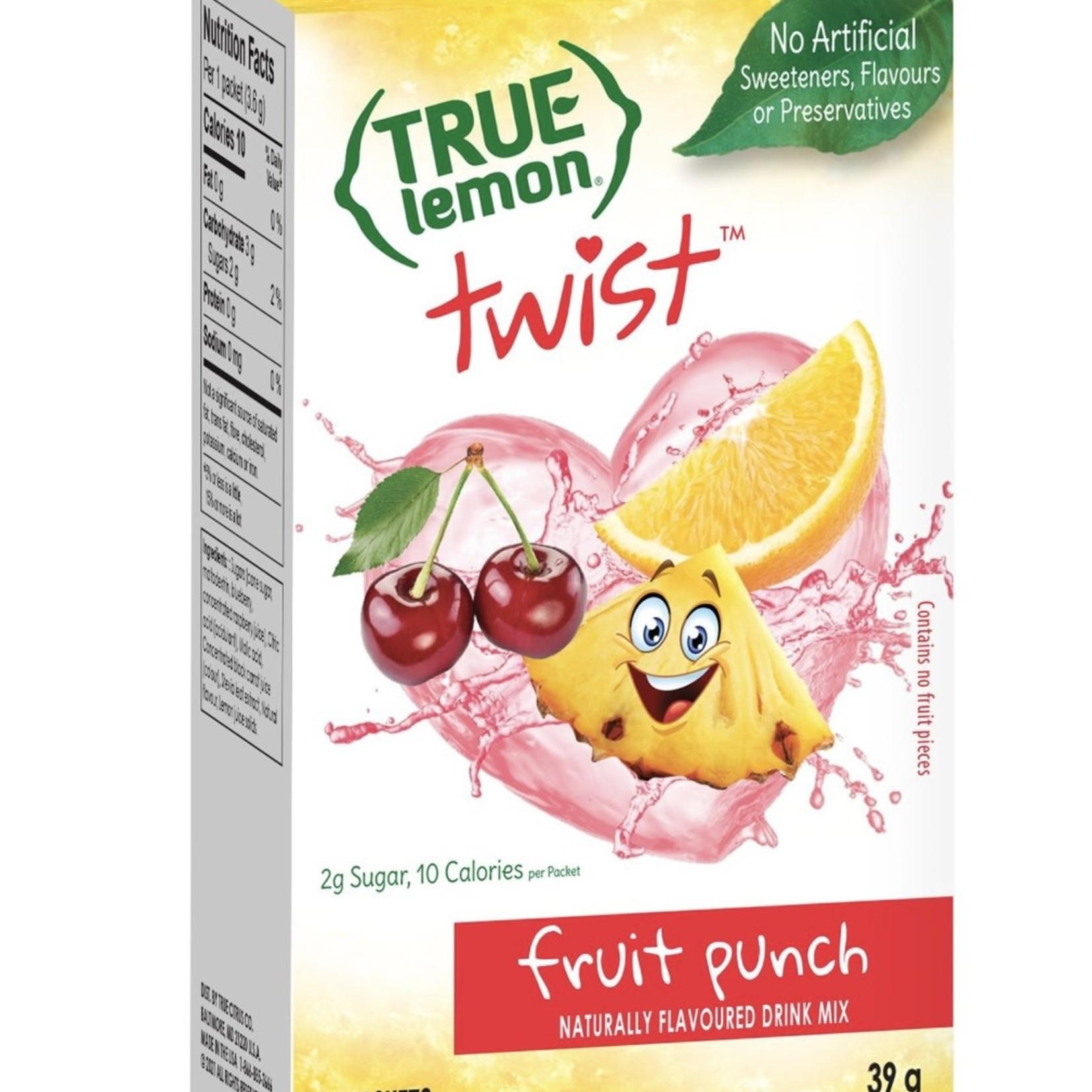True Citrus True Lemon Fruit Punch Twist 10ct