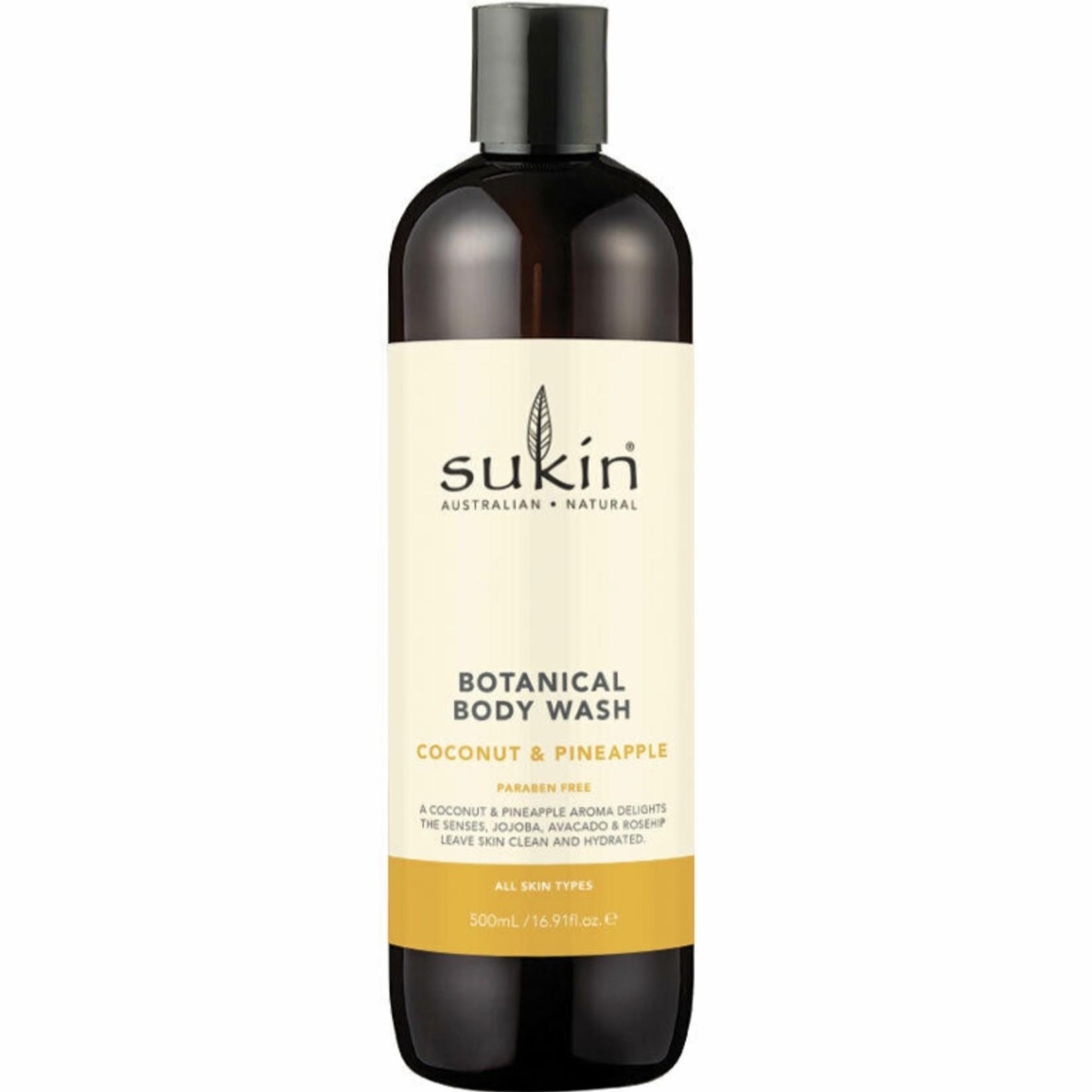 Sukin Sukin Coconut & Pineapple Body Wash 500ml