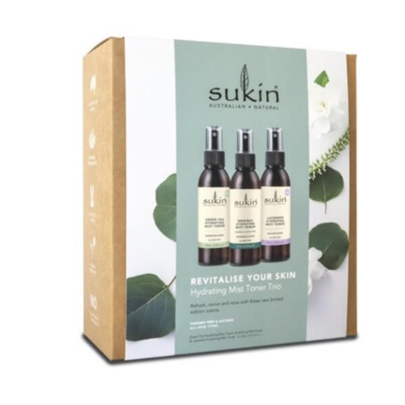 Sukin Sukin Revitalise Your Skin Toner Set