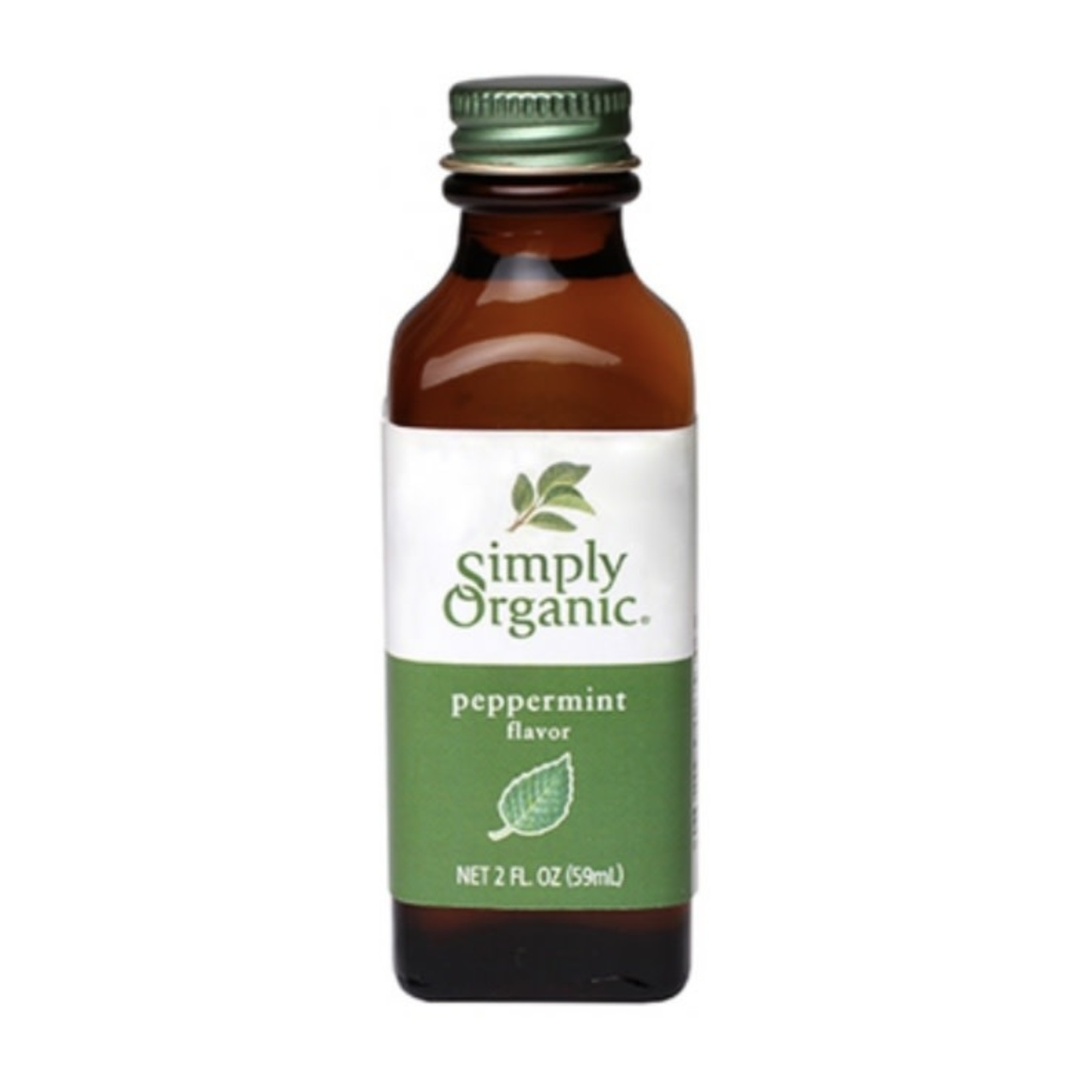 Simply Organic Simply Organic Peppermint Flavour 59ml