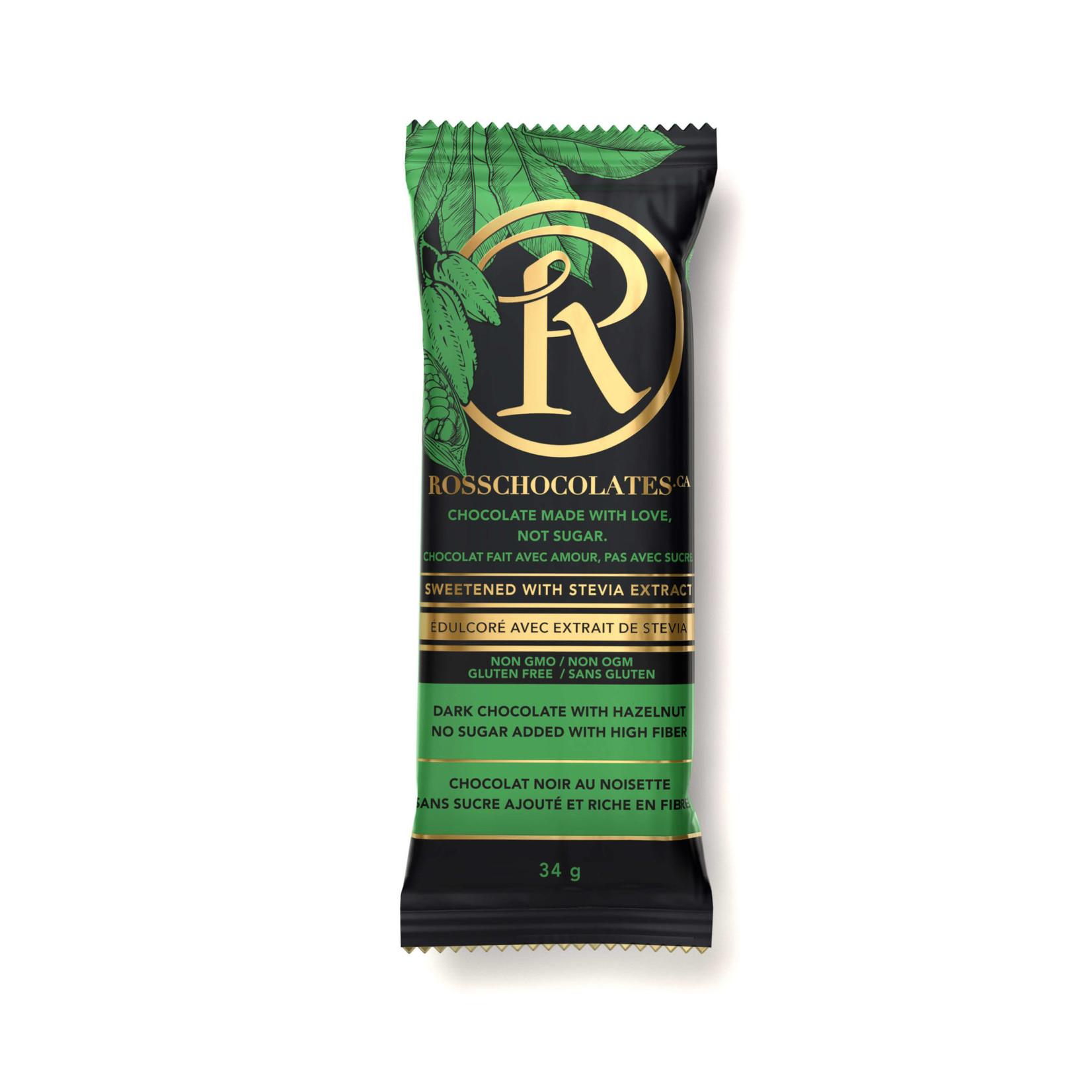 Ross Ross Dark Chocolate with Hazelnut Bar