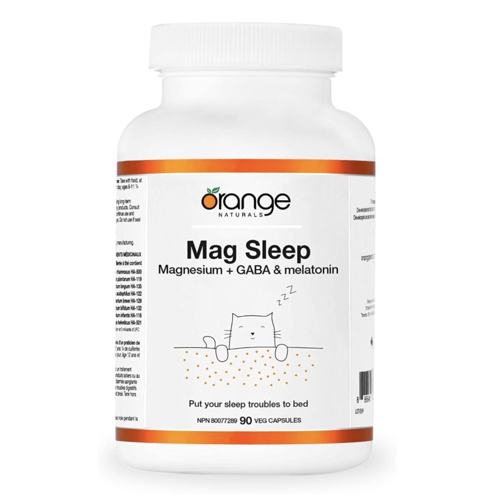 Orange Naturals Orange Naturals Mag Sleep 90 caps