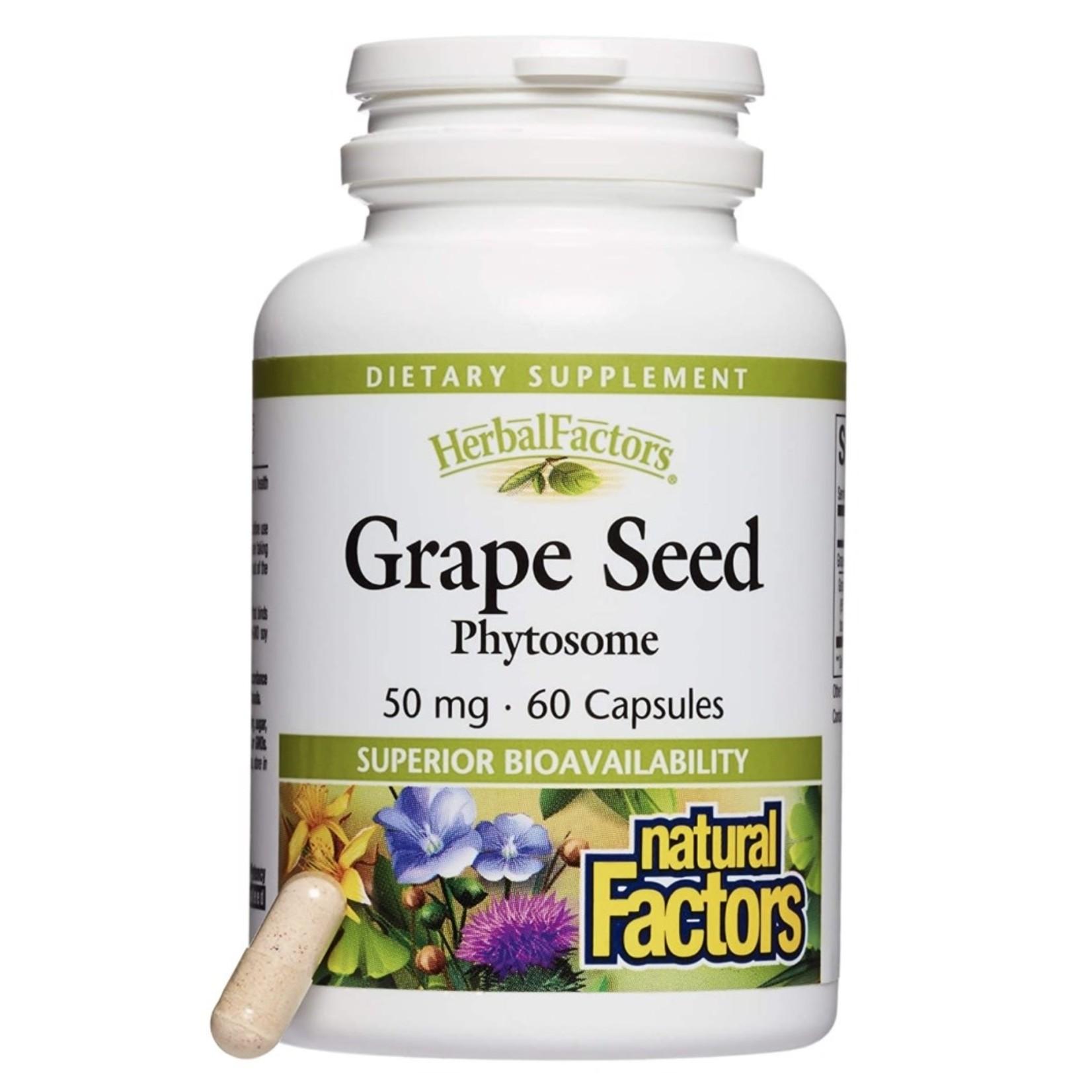Natural Factors Natural Factors Grape Seed 60 caps