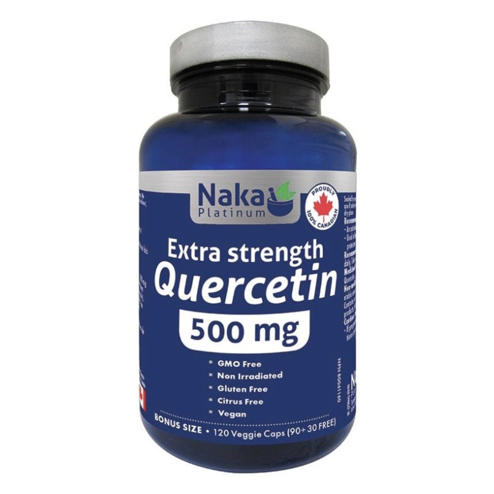 Naka Naka Extra Strength Quercetin 500mg 120 caps