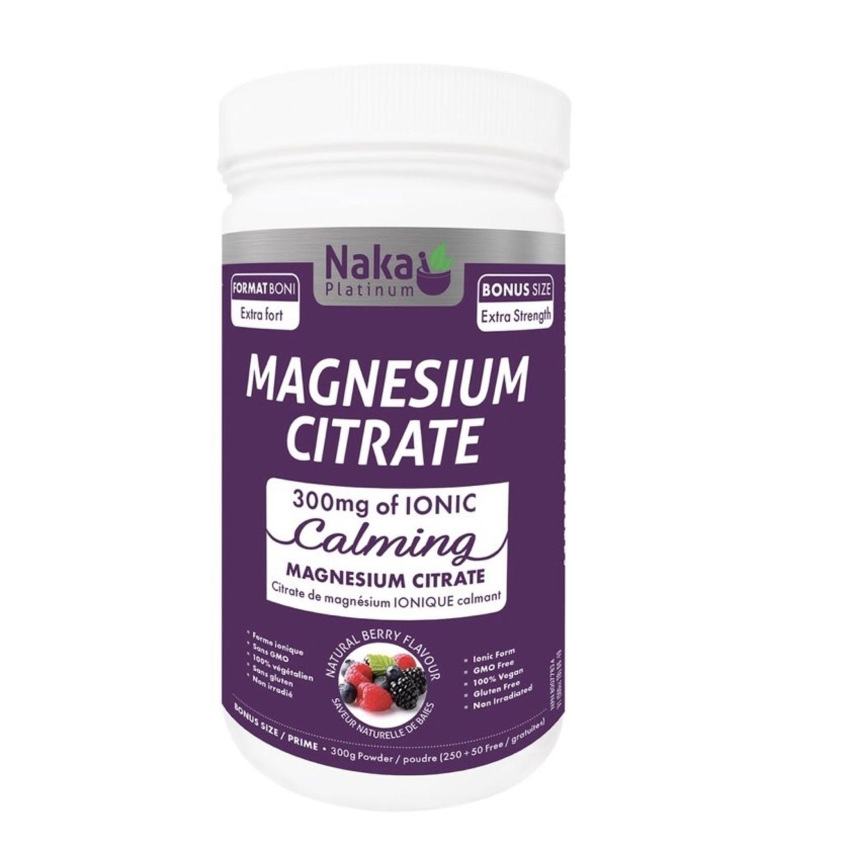 Naka Naka Magnesium Citrate 300g powder