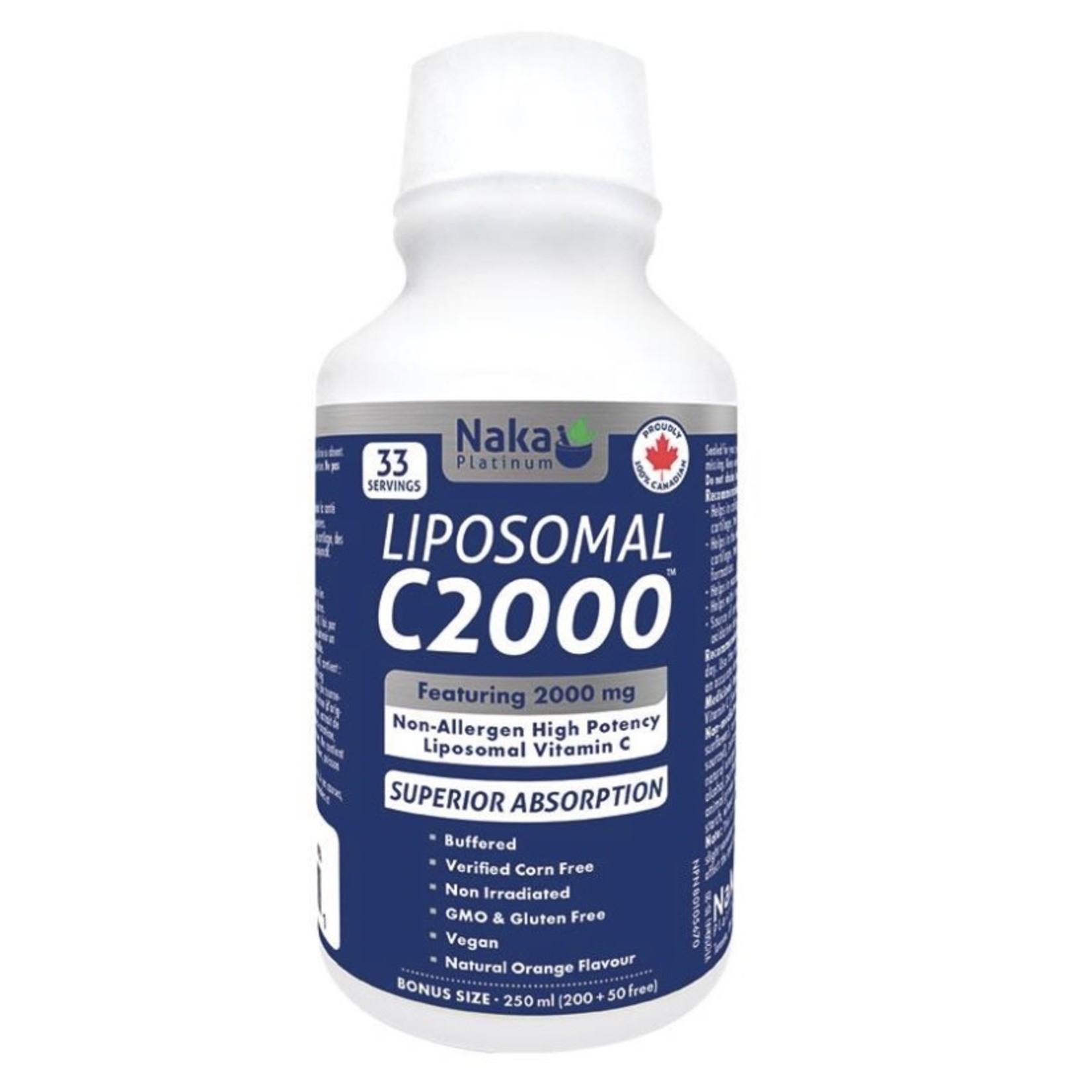 Naka Naka Liposomal C2000 250ml