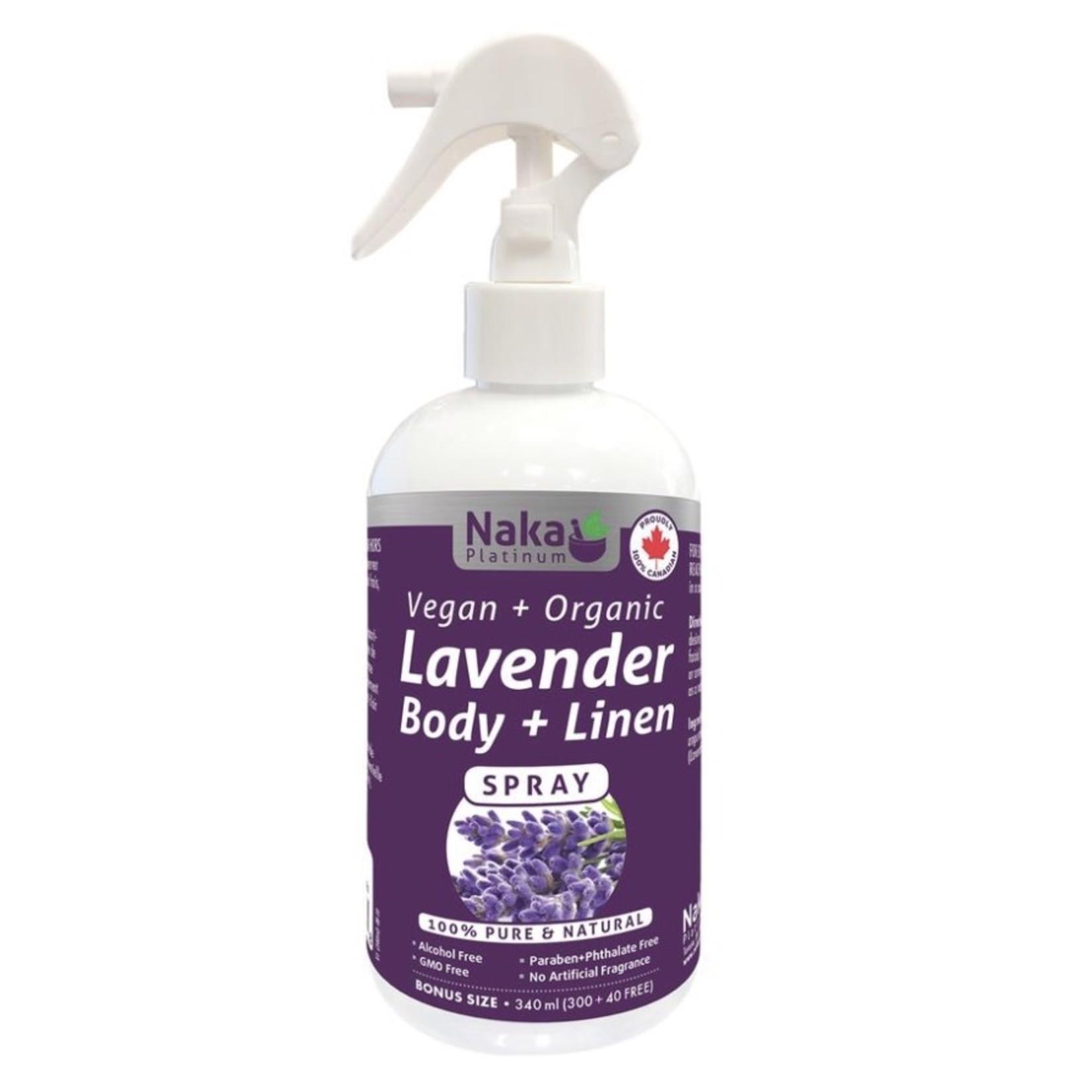 Naka Naka Lavender Body + Linen Spray 340ml