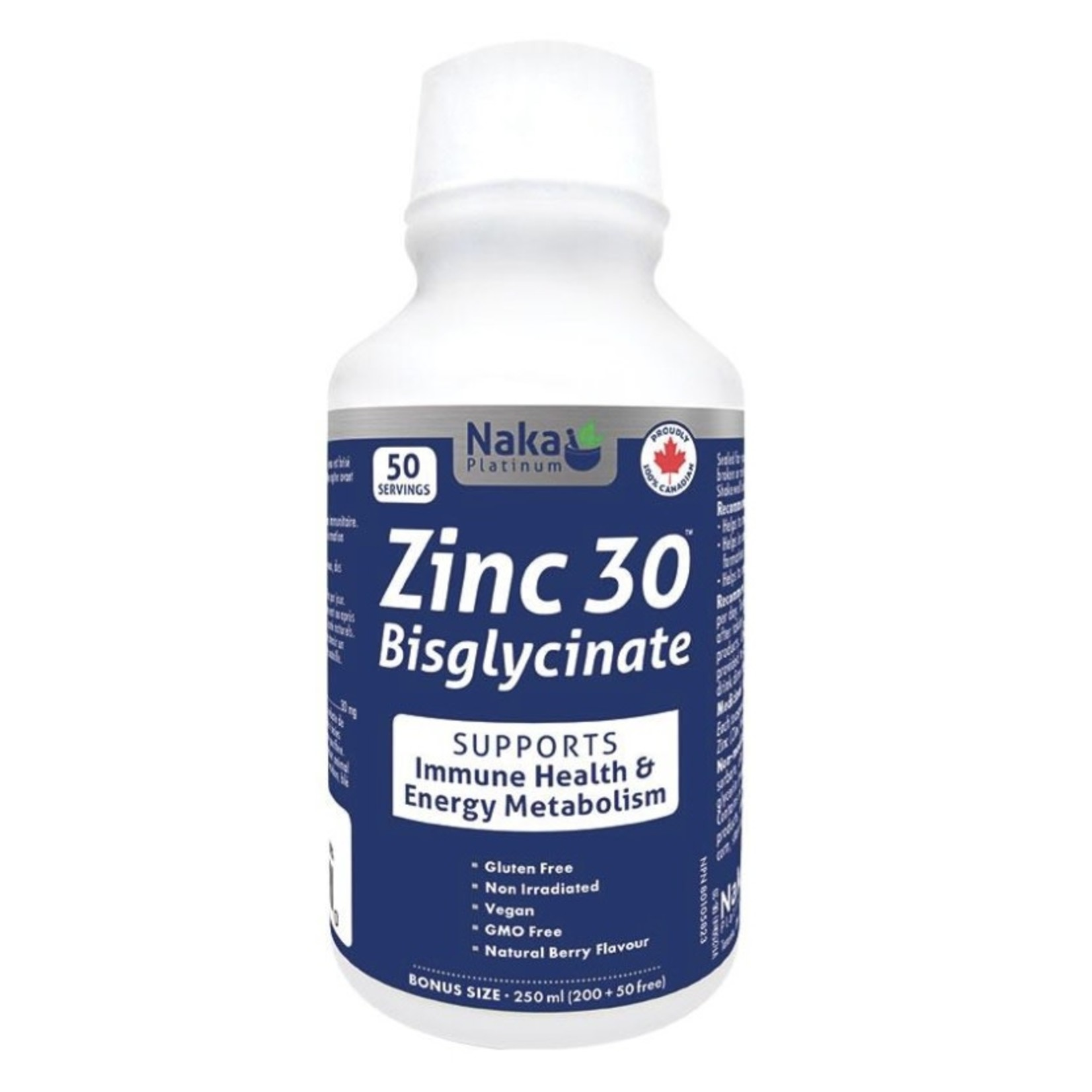 Naka Naka Zinc Bisglycinate 250ml