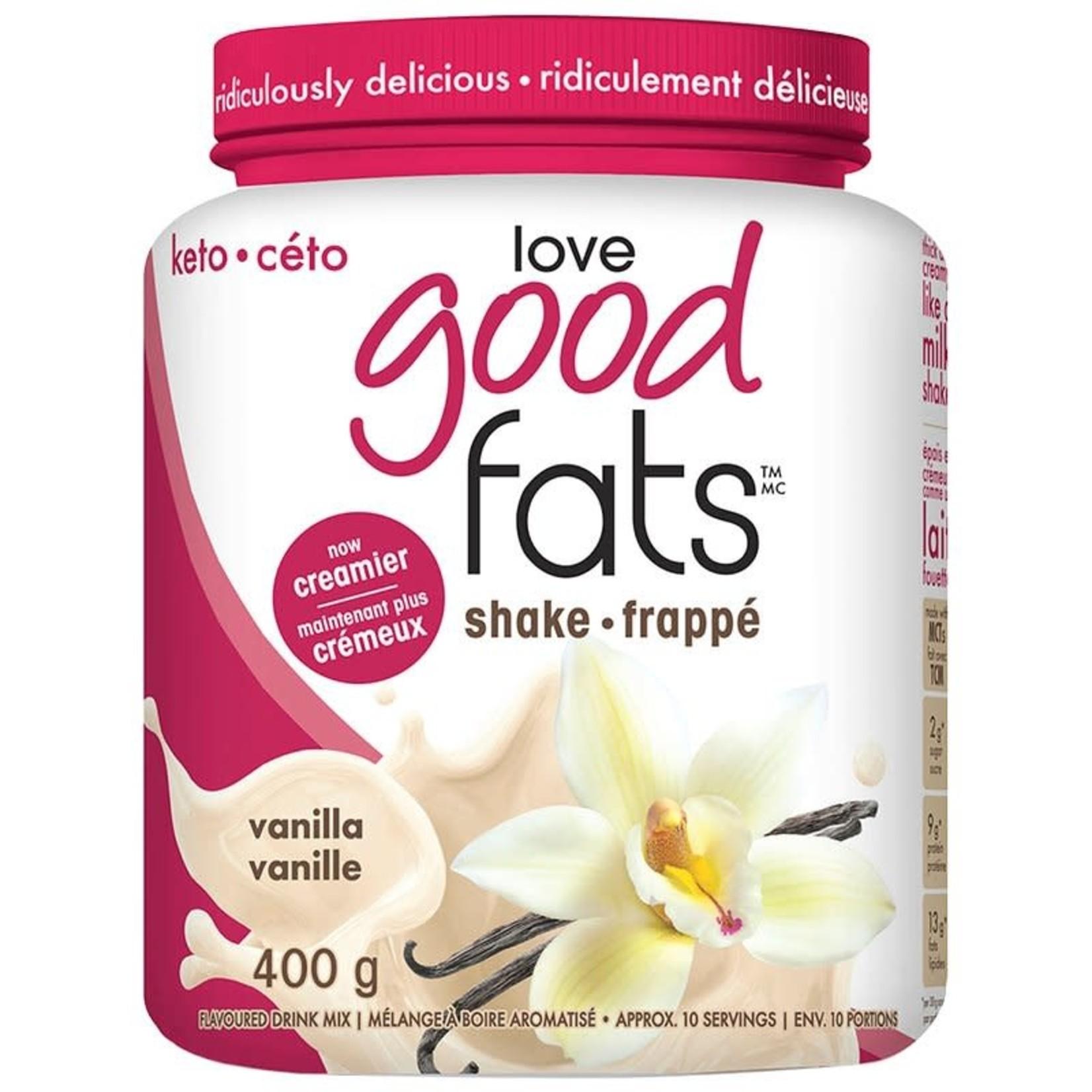 Love Good Fats Vanilla Shake 400g