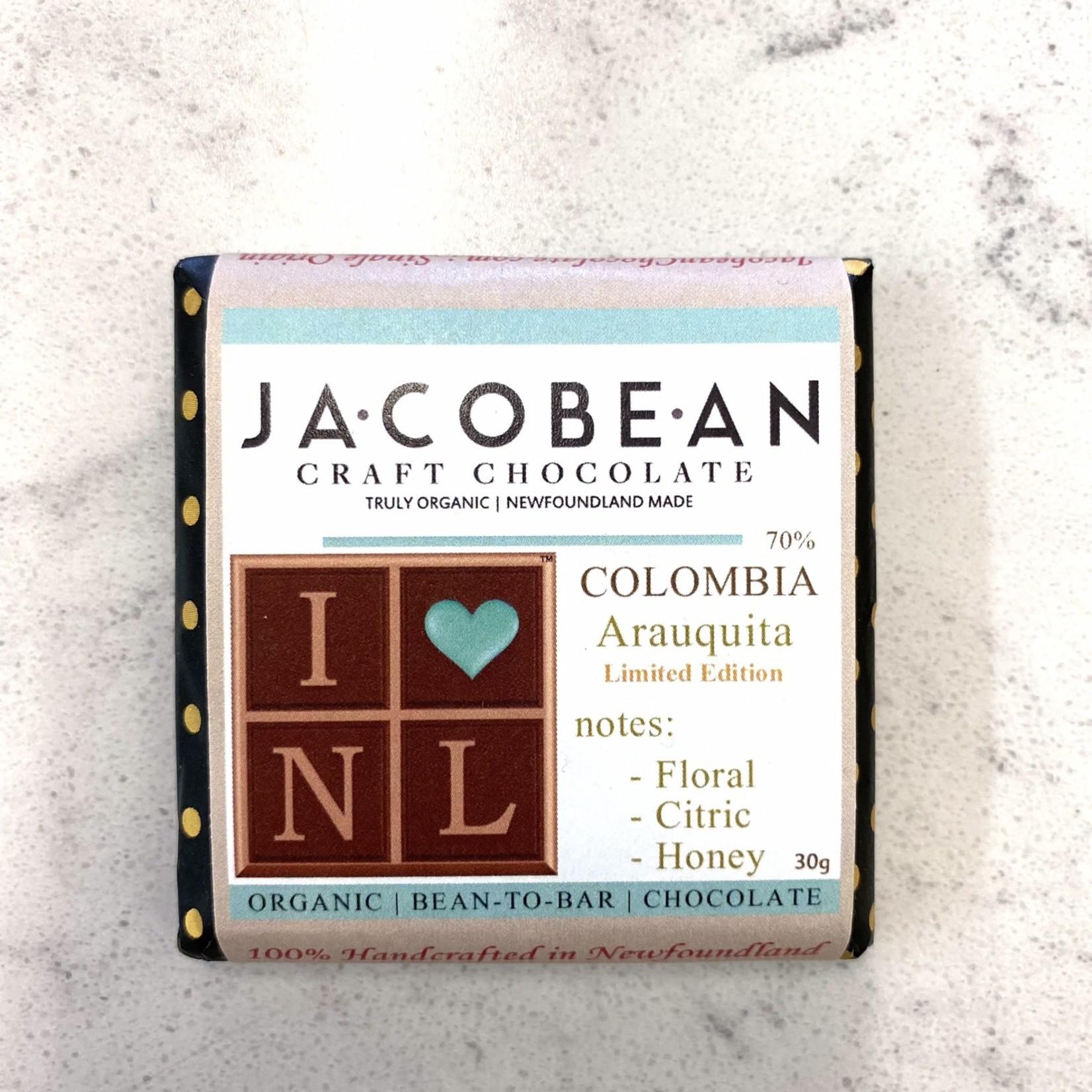 Jacobean Jacobean Colombia Chocolate