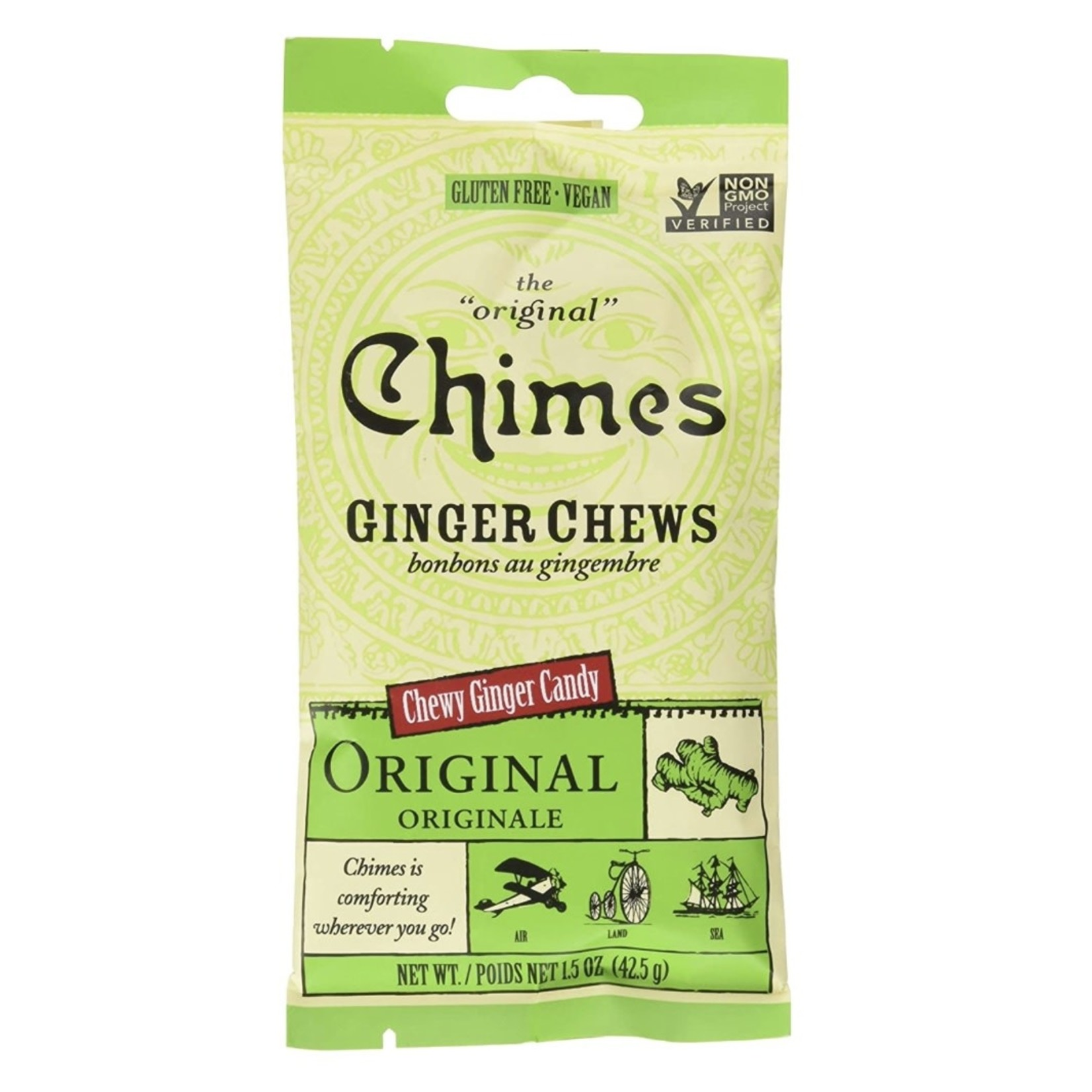 Chimes Chimes Original Ginger Chews 42.5g
