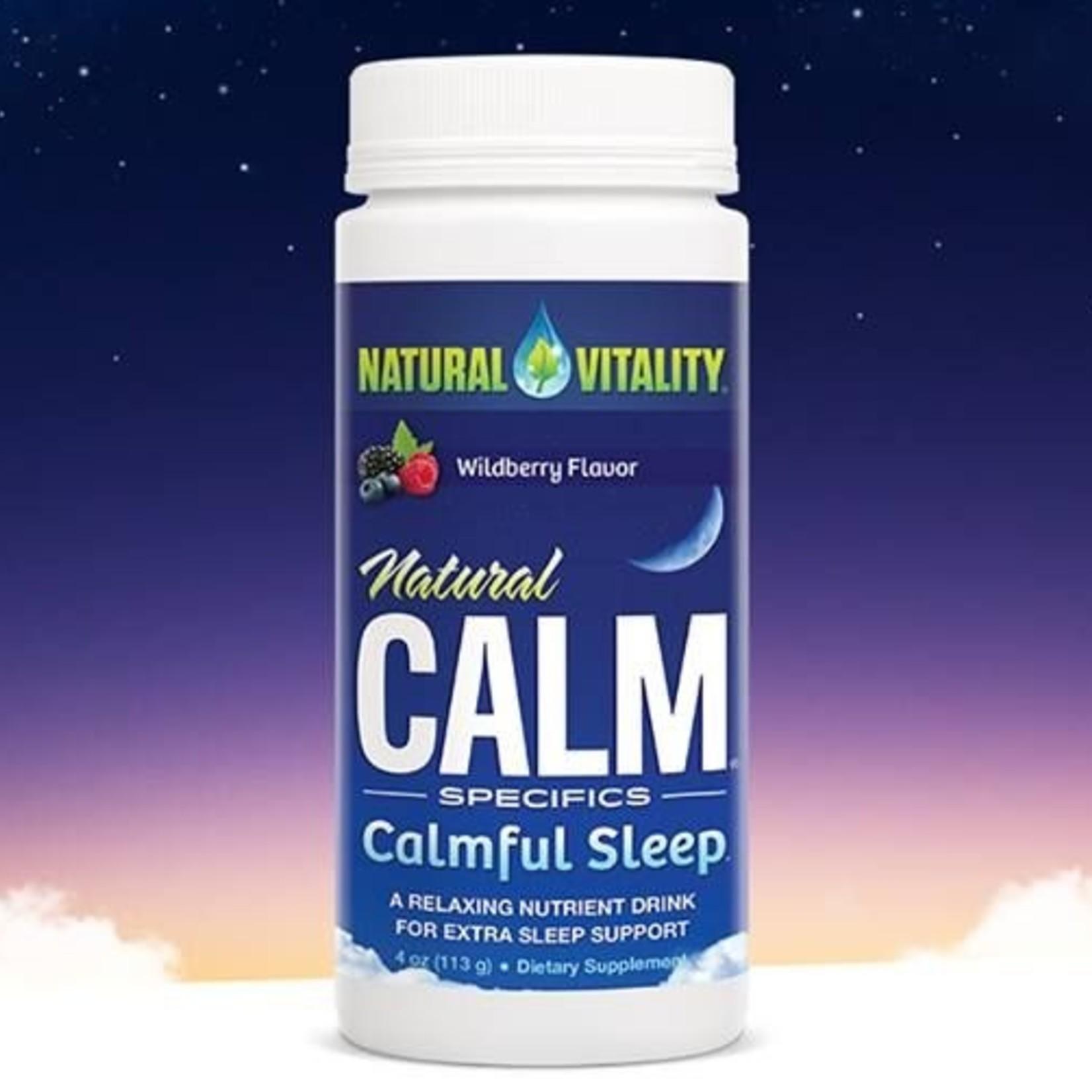 Natural Calm Natural Calm Calmful Sleep Wild Berry 113g