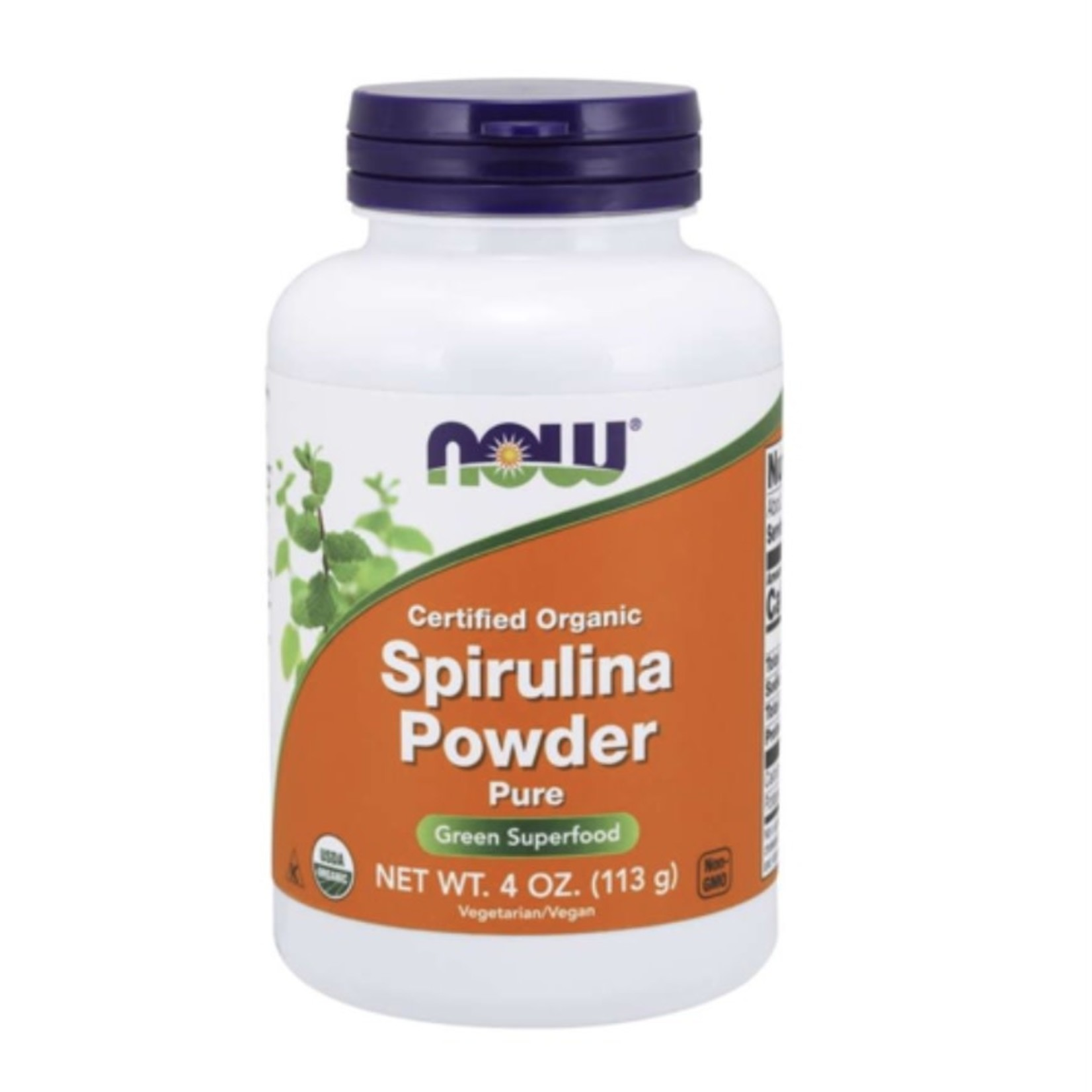 Now Now Spriulina 113g powder