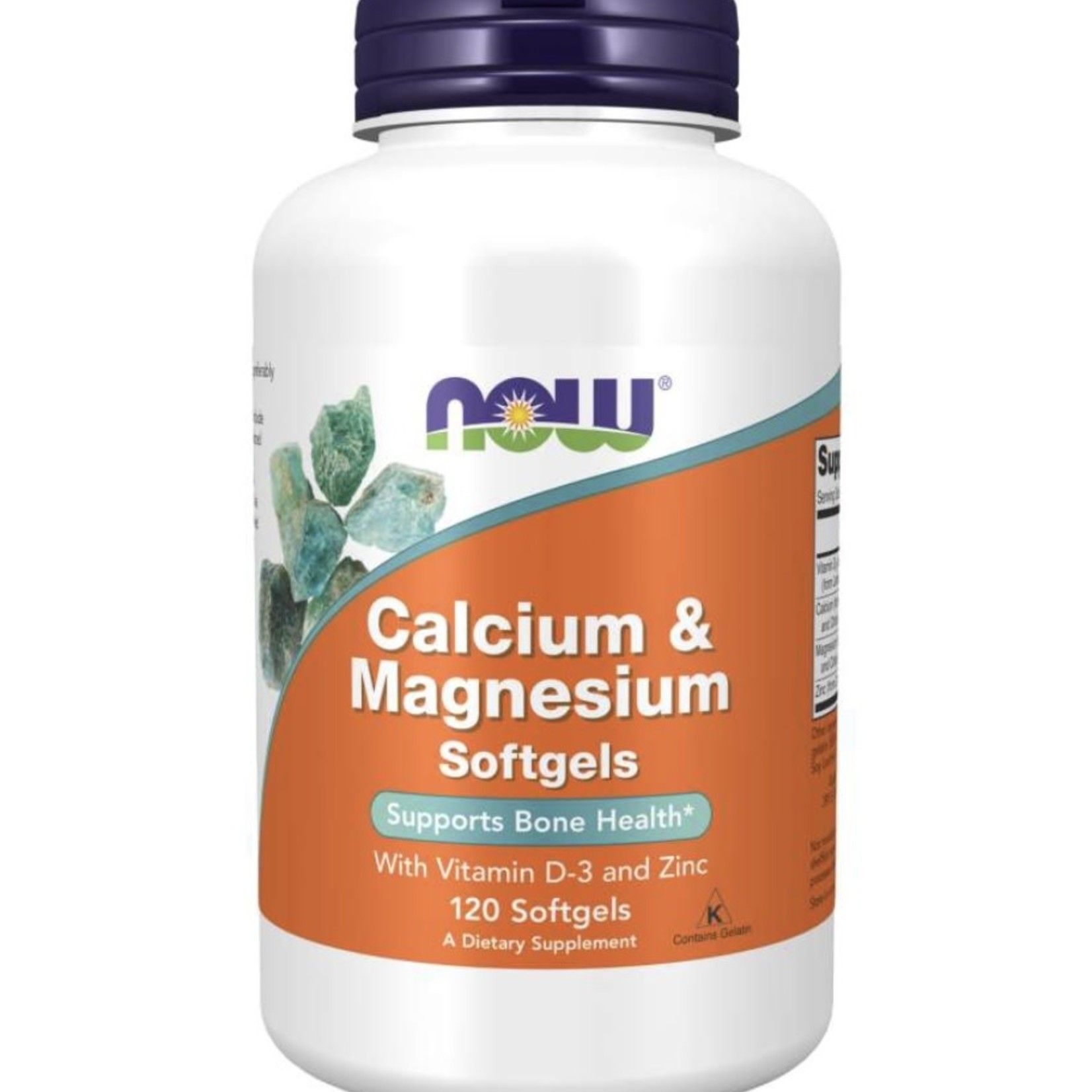 Now Now Calcium & Magnesium 120 softgels