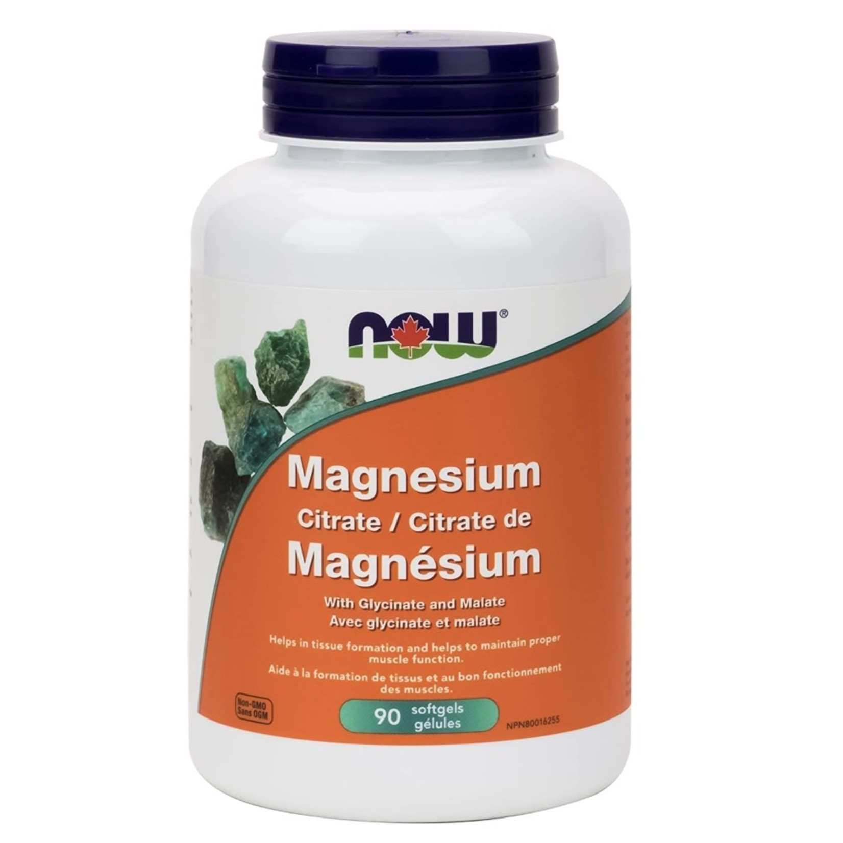 Now Now Magnesium Citrate 90 softgels