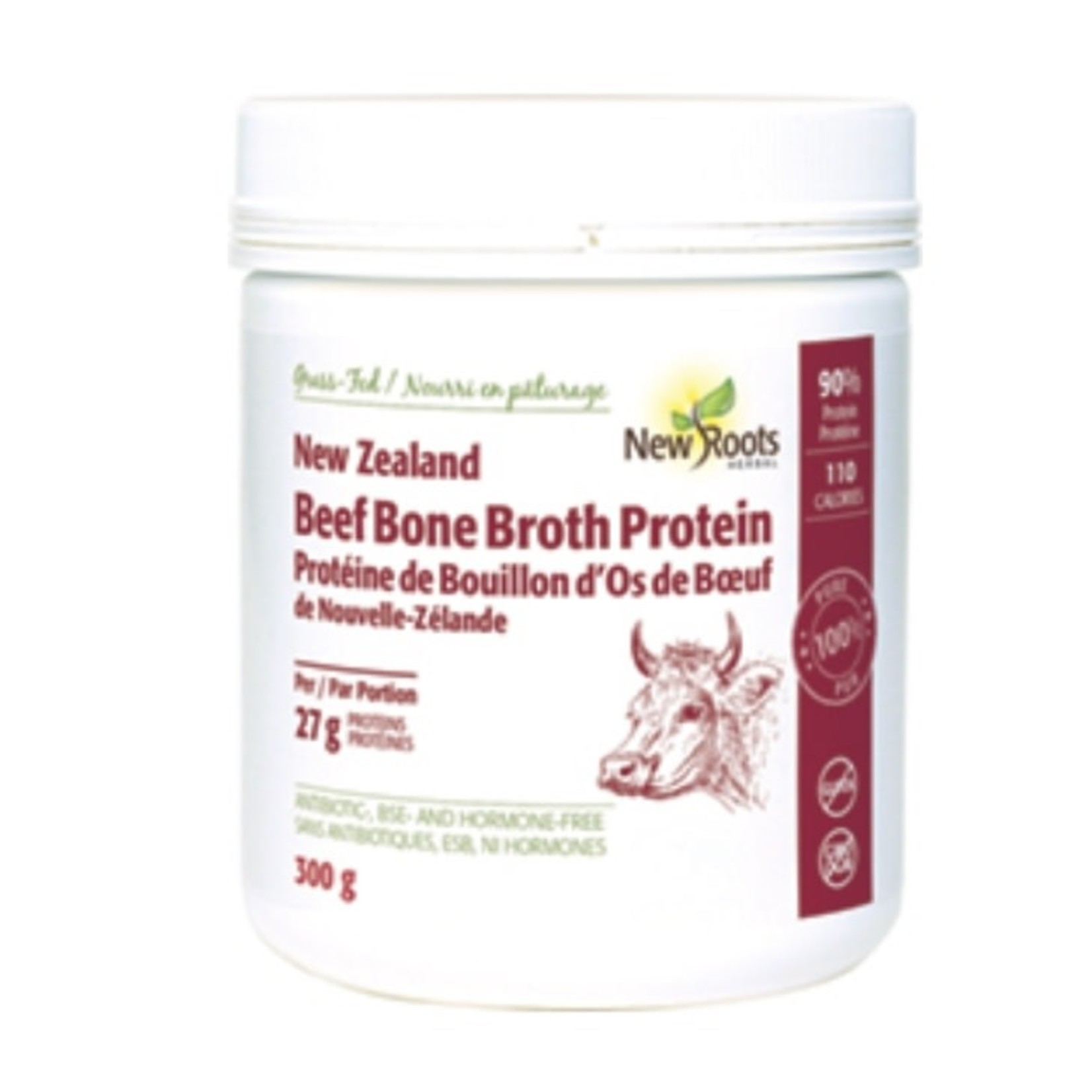 New Roots New Roots Beef Bone Broth Protein 300g