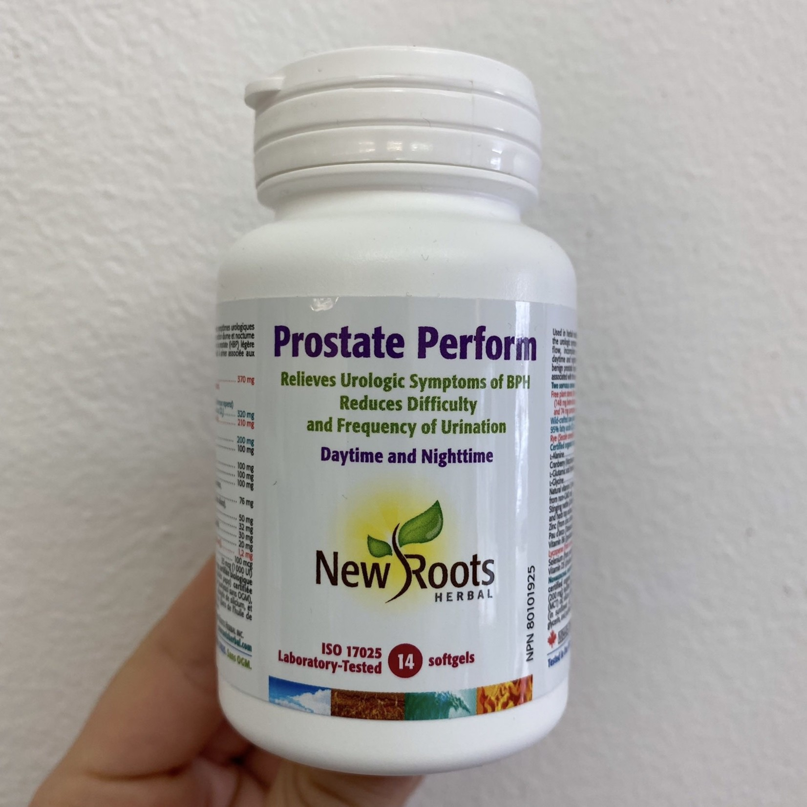 New Roots New Roots Prostate Perform 14 softgels