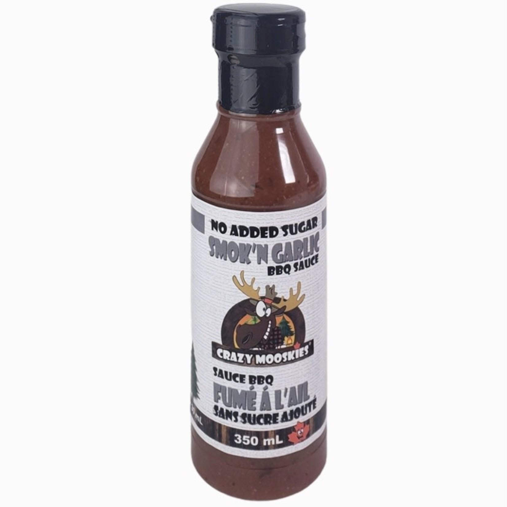 Crazy Mooskies Crazy Mooskies Smoke'N Garlic BBQ Sauce 350ml