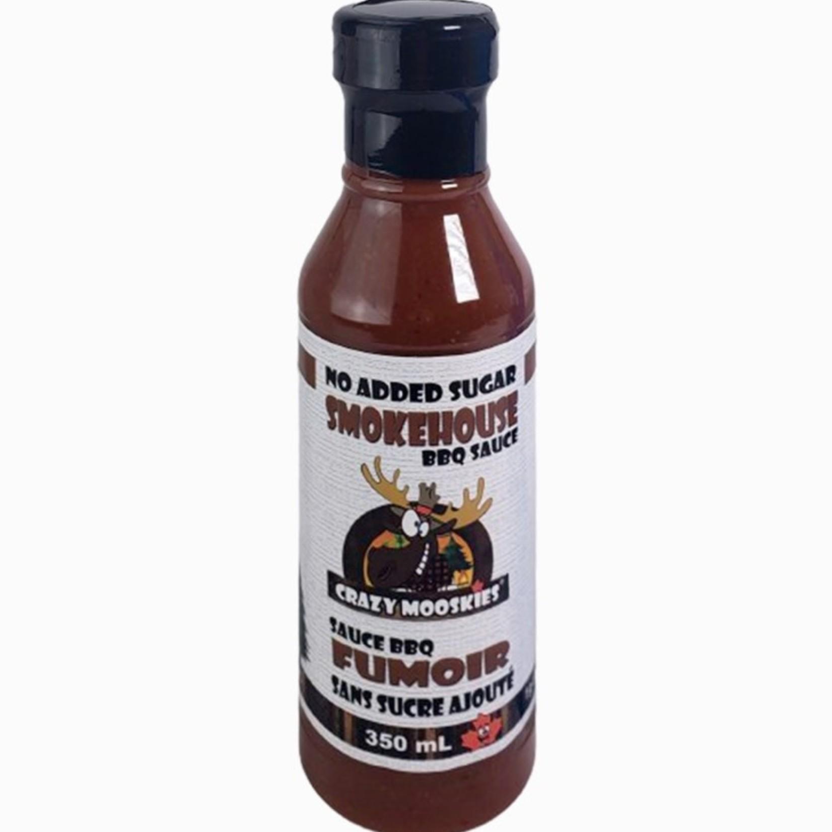 Crazy Mooskies Crazy Mooskies Smokehouse BBQ Sauce 350ml