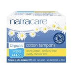 Natracare Natracare Organic Cotton Tampons 10 Pack Super
