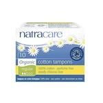 Natracare Natracare Organic Cotton Tampons 10 Pack Regular