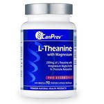 Canprev Canprev L-Theanine with Magnesium 250mg 90 Veg Capsules