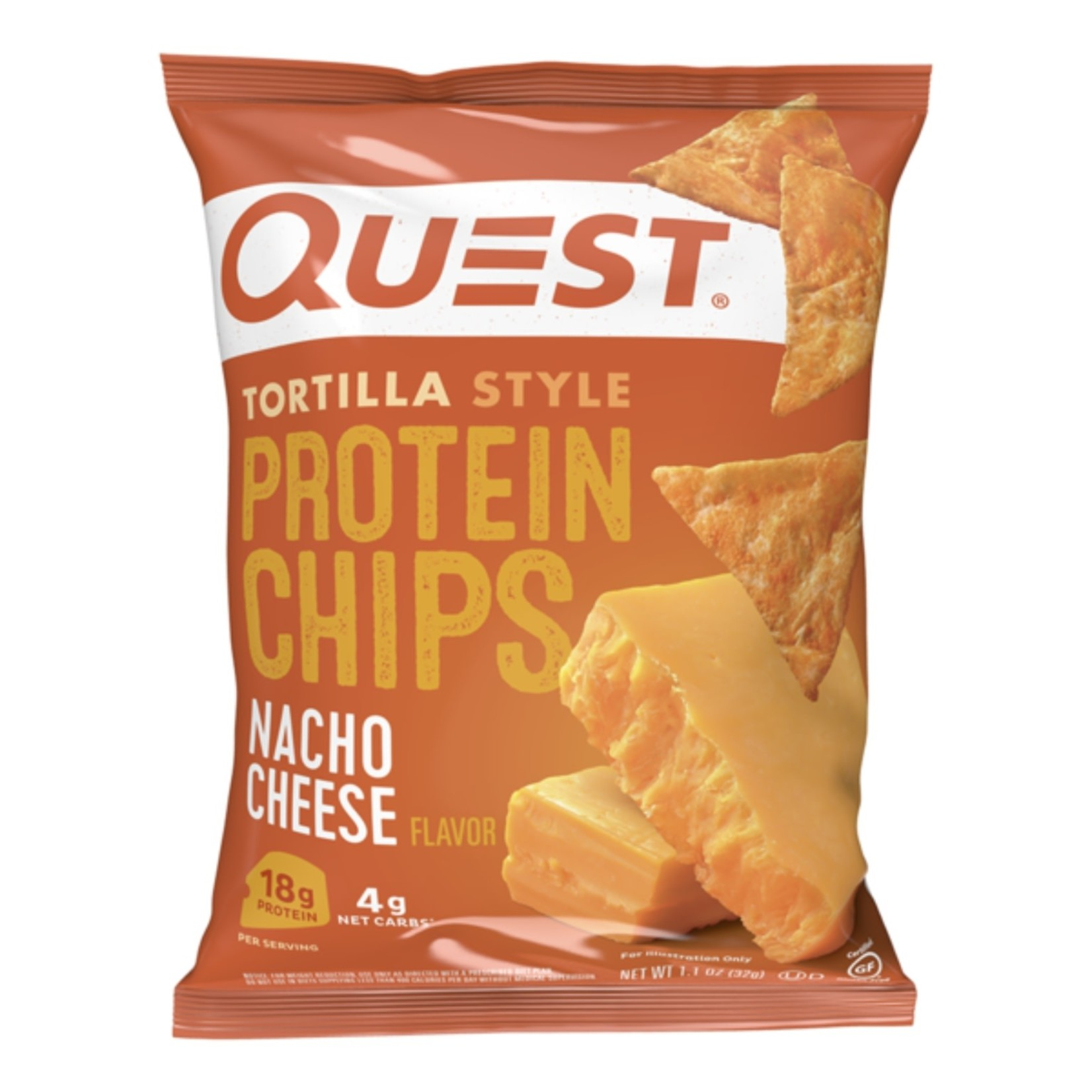 Quest Quest Nacho Cheese Chips 32g