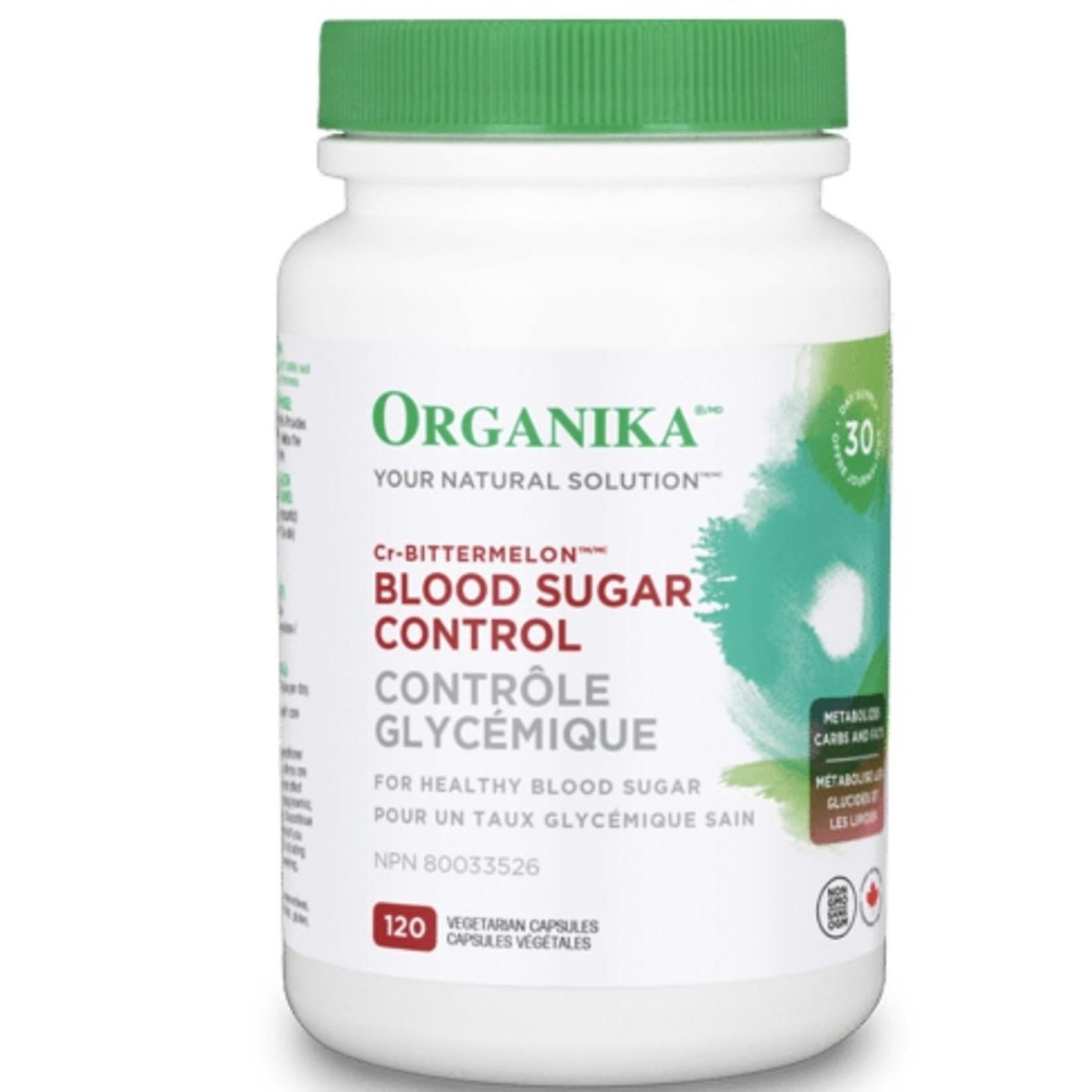 Organika Organika Blood Sugar Control 120 VCaps