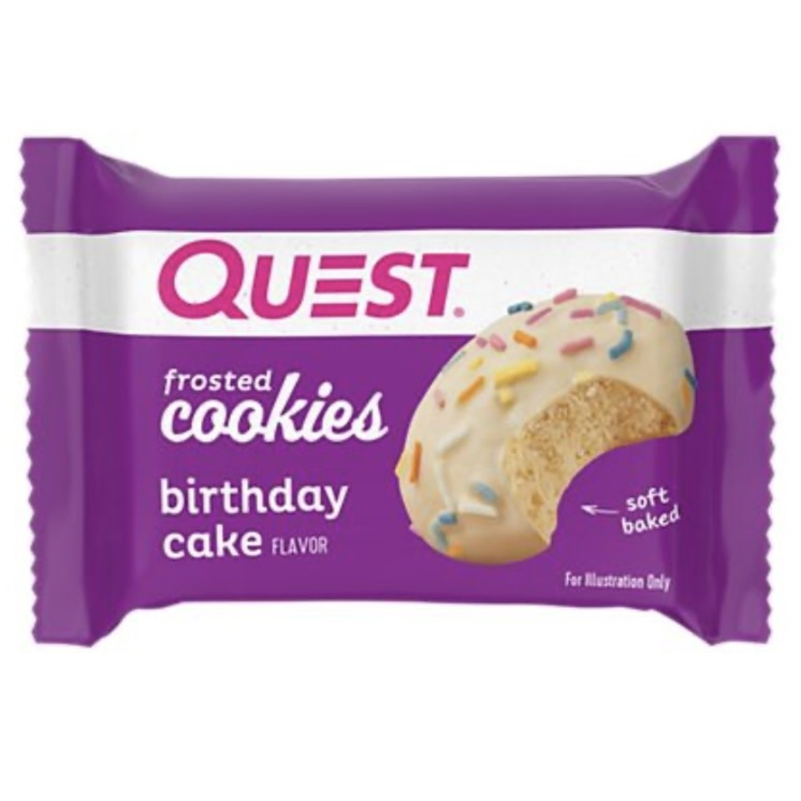 Quest Quest Frosted Cookie Birthday Cake