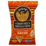 Siete Grain Free Nacho Tortilla Chips 142g